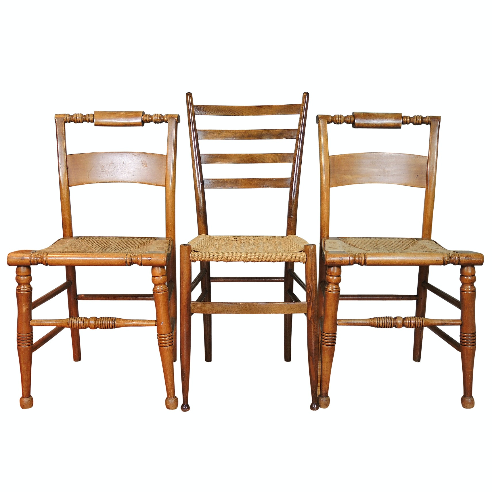 Ladderback and Spool-turned Chairs