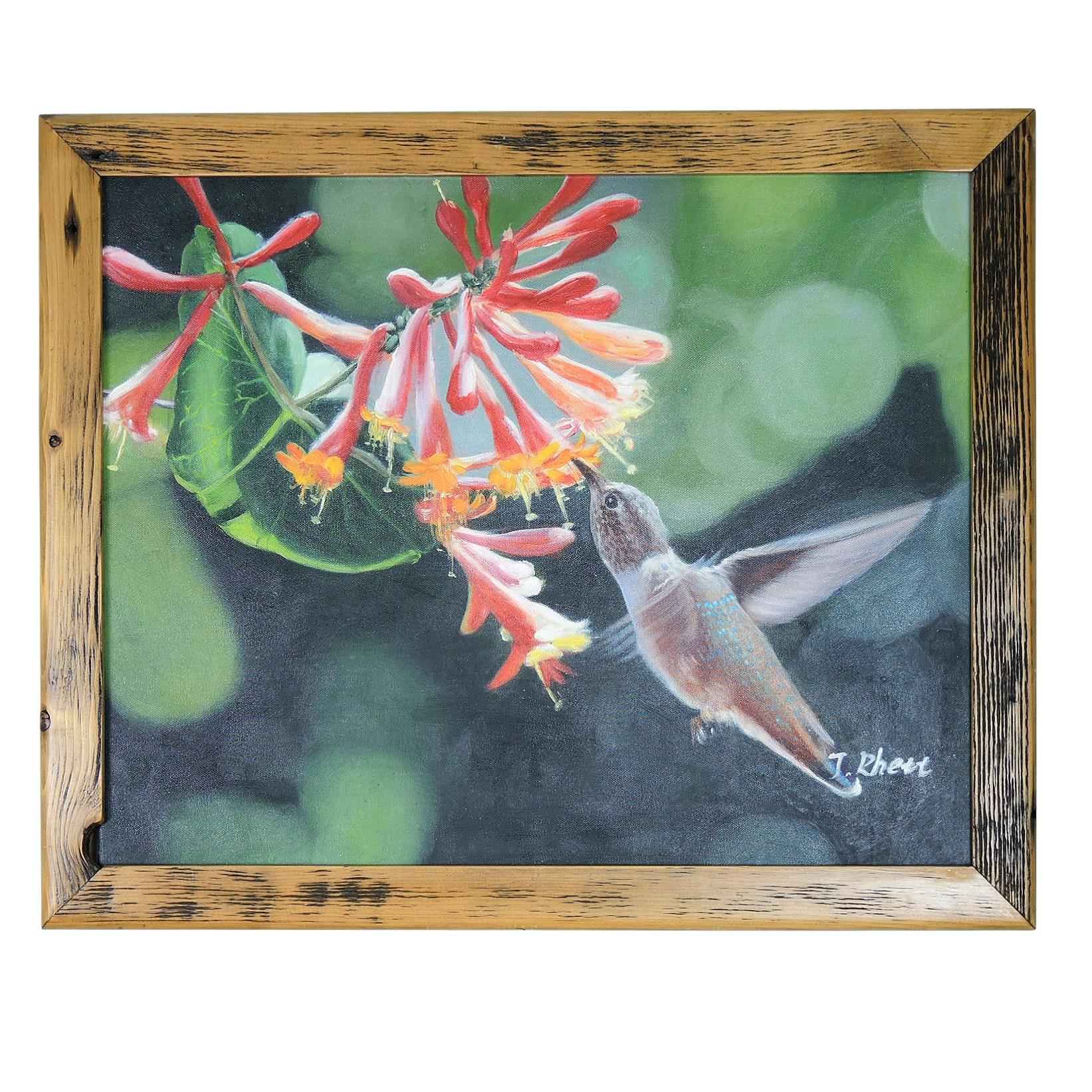 Wildlife Oil Painting