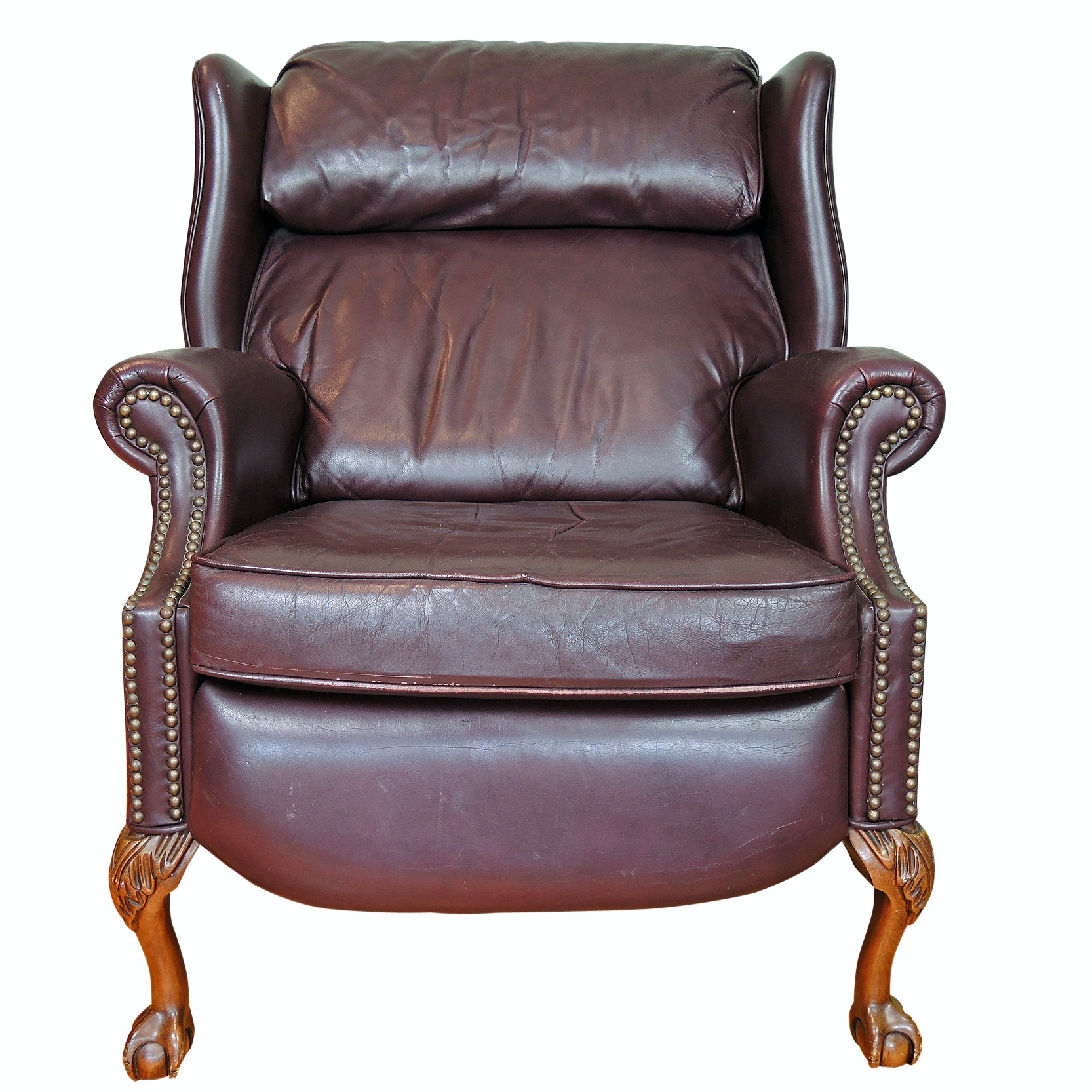 La-Z-Boy Leather Wingback Recliner