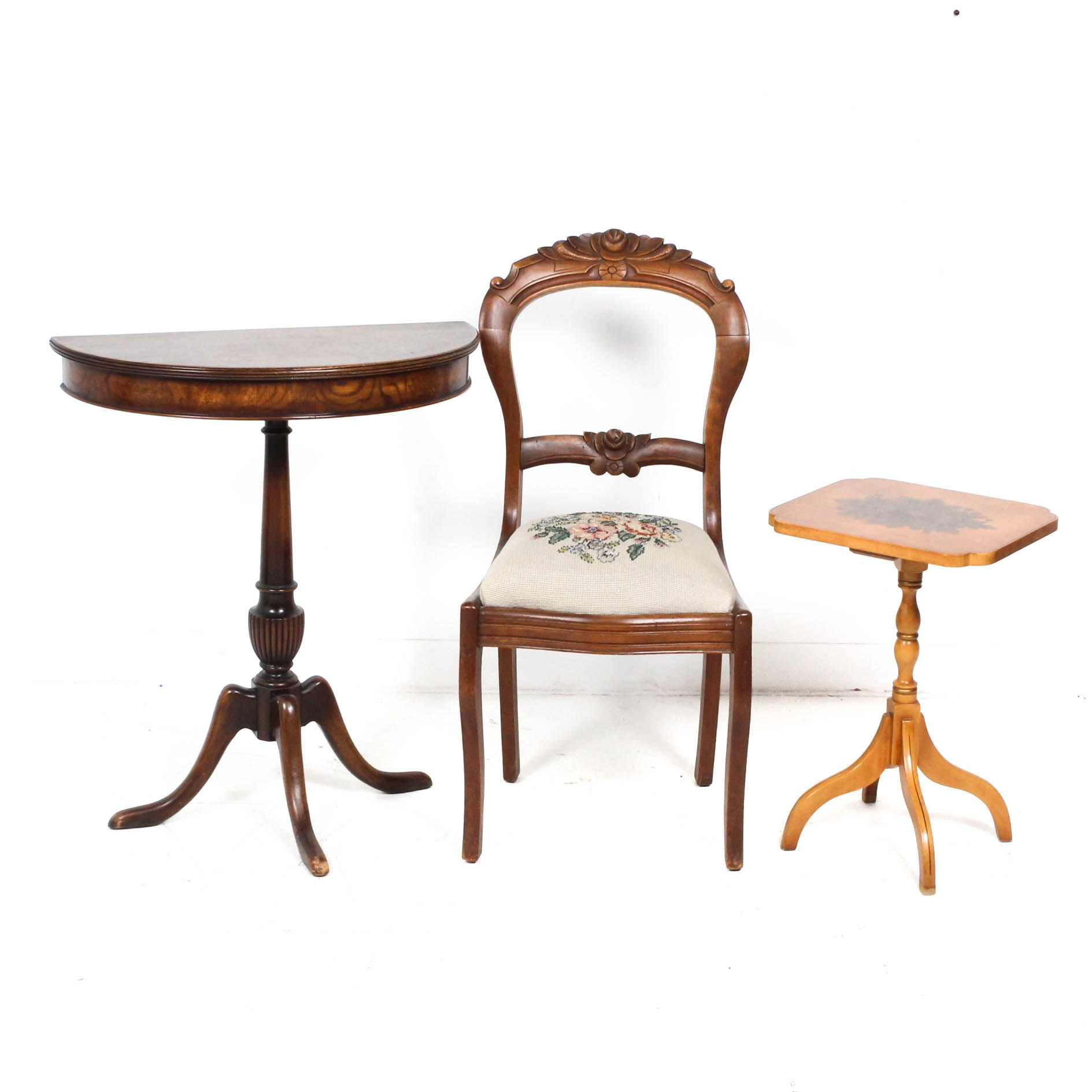 Antique and Vintage Furniture With Hitchcock Accent Table