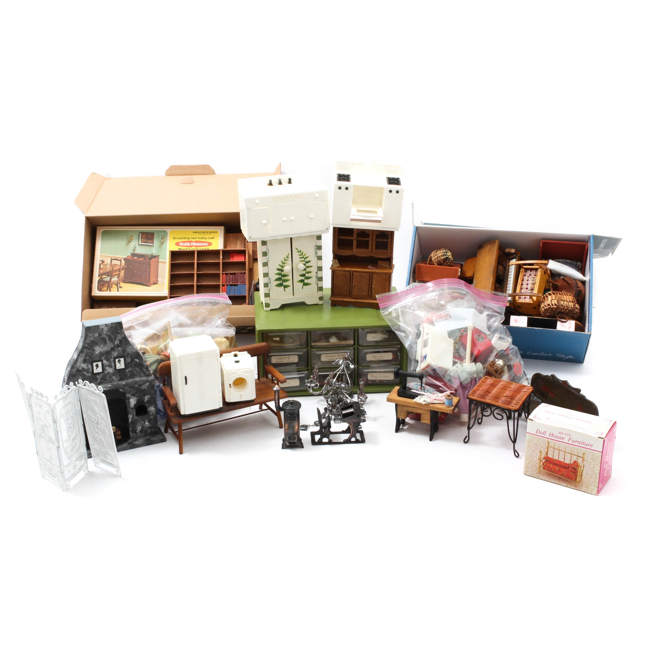 Vintage Dollhouse Furniture And Accessories Ebth