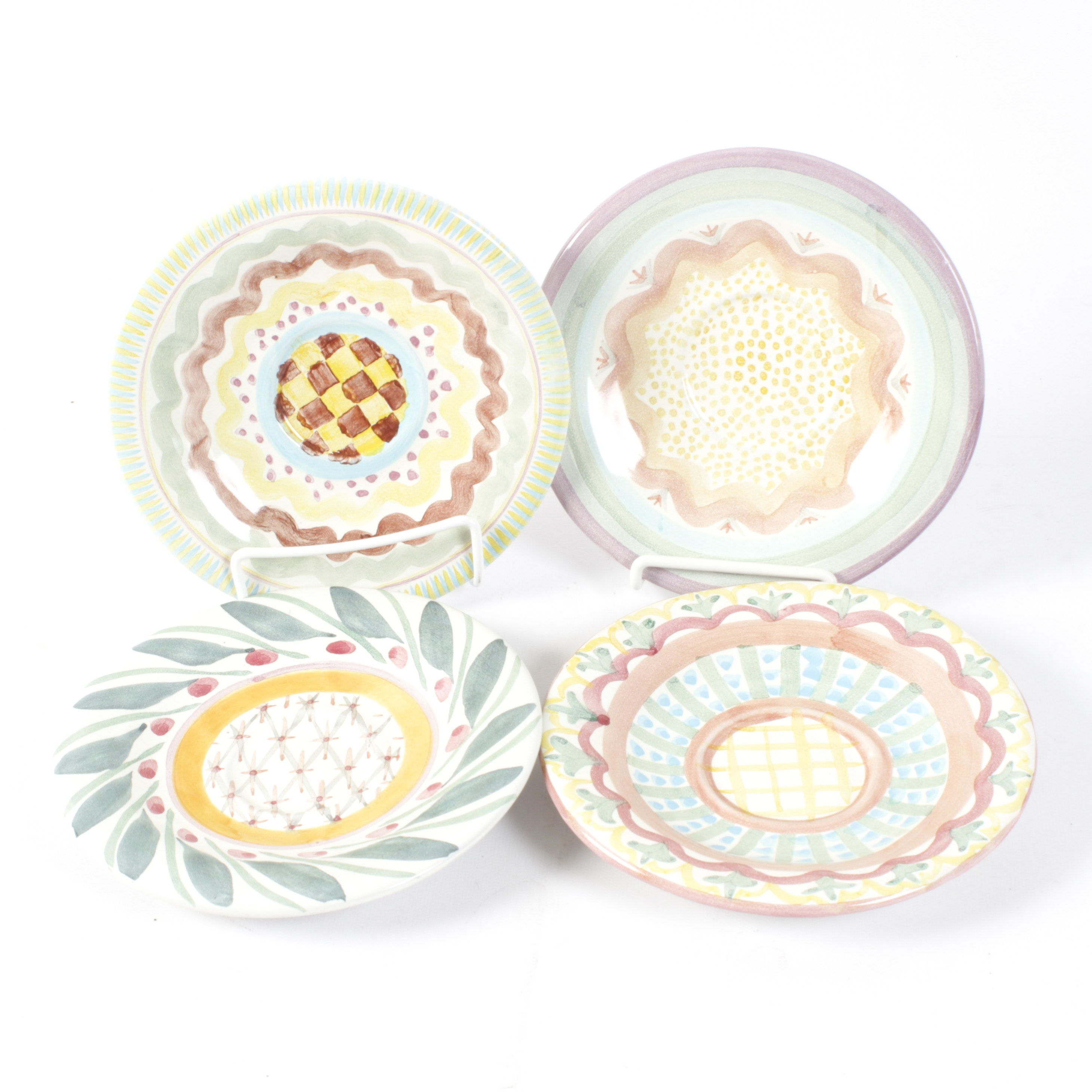 Victoria and Richard Mackenzie-Childs Collection of Saucers