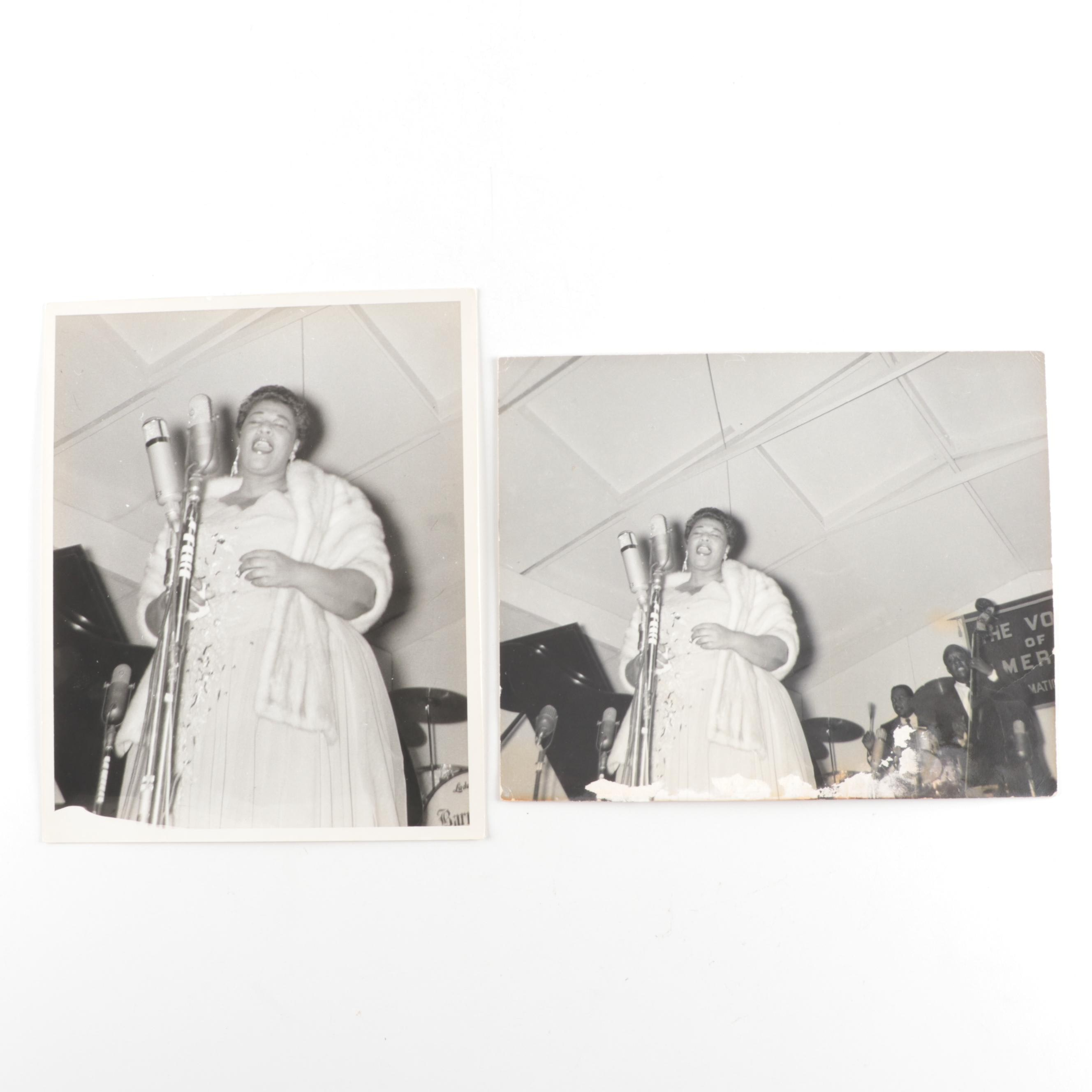 1956 Ella Fitzgerald Gelatin-Silver Photographs from the Jack Bradley Collection