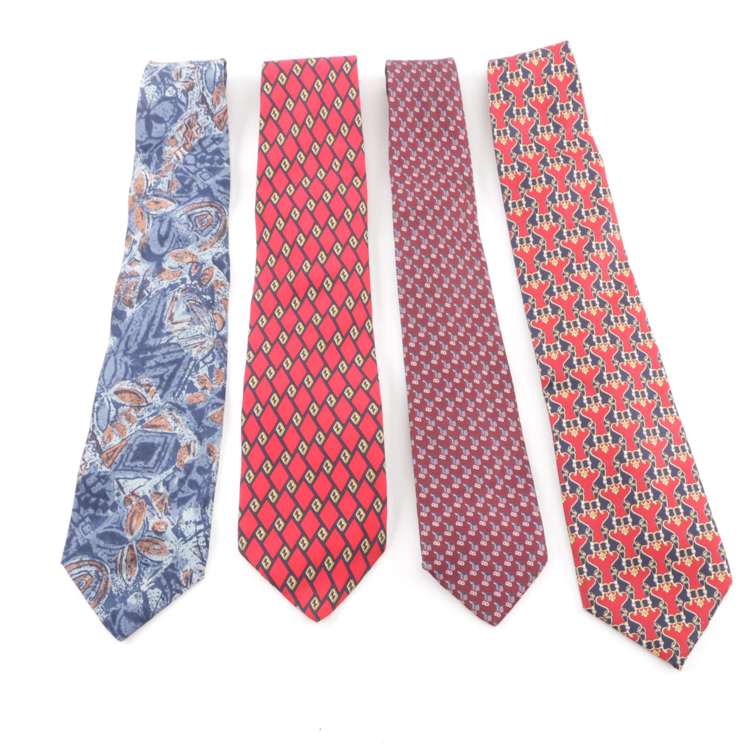 Men's Gucci and Fendi Silk Neckties