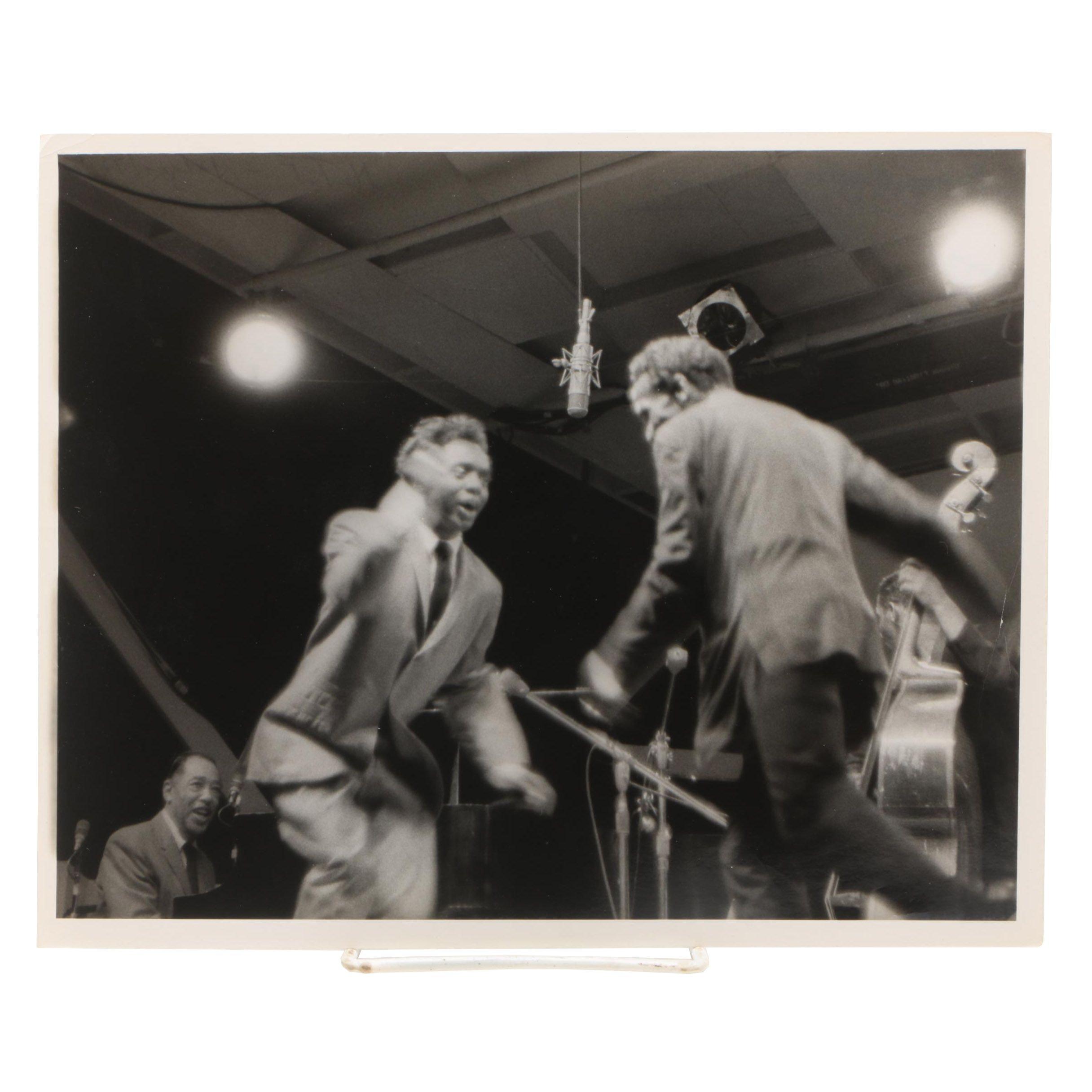 1963 Silver-Gelatin Photograph of Duke Ellington from Jack Bradley Collection