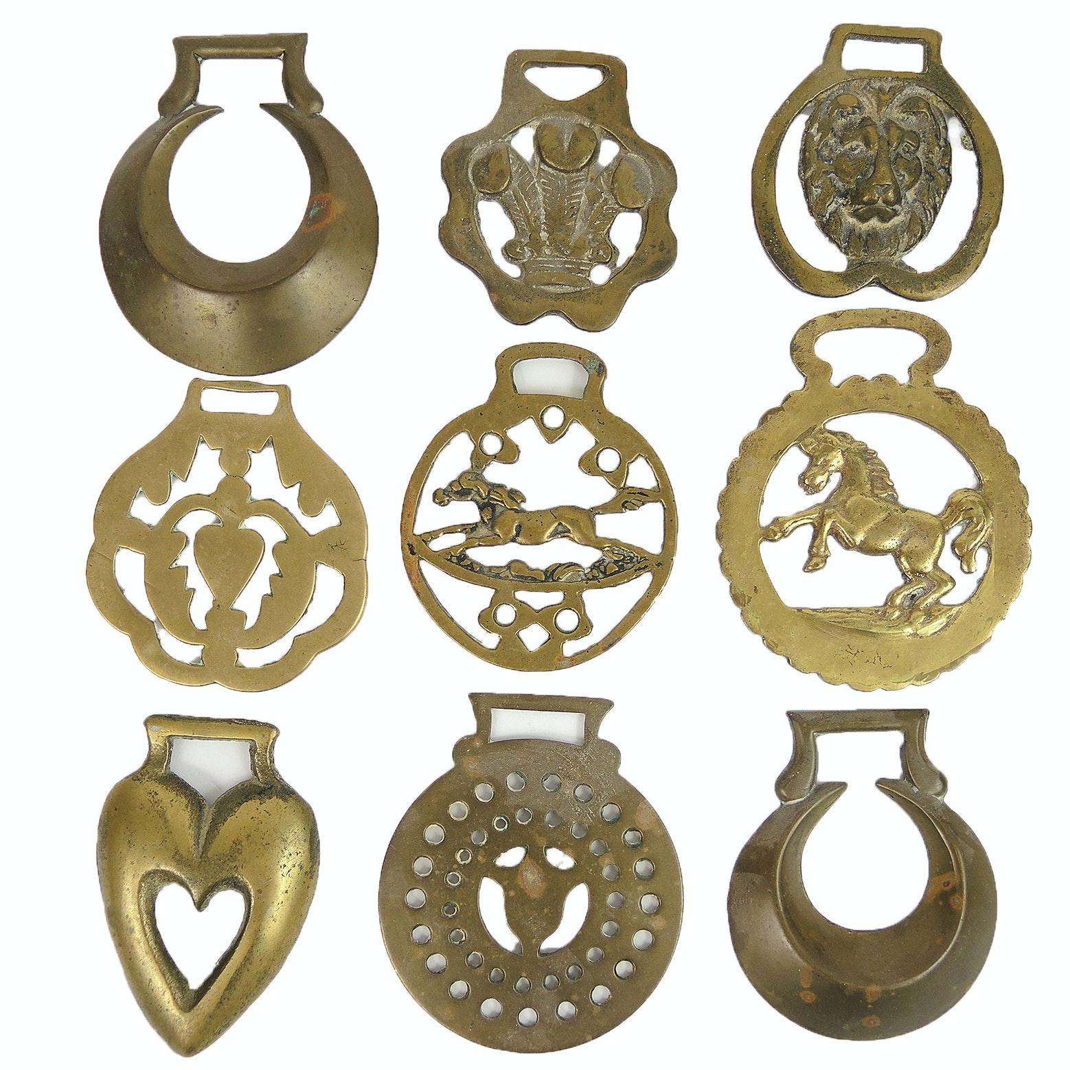 Vintage English Horse Brasses