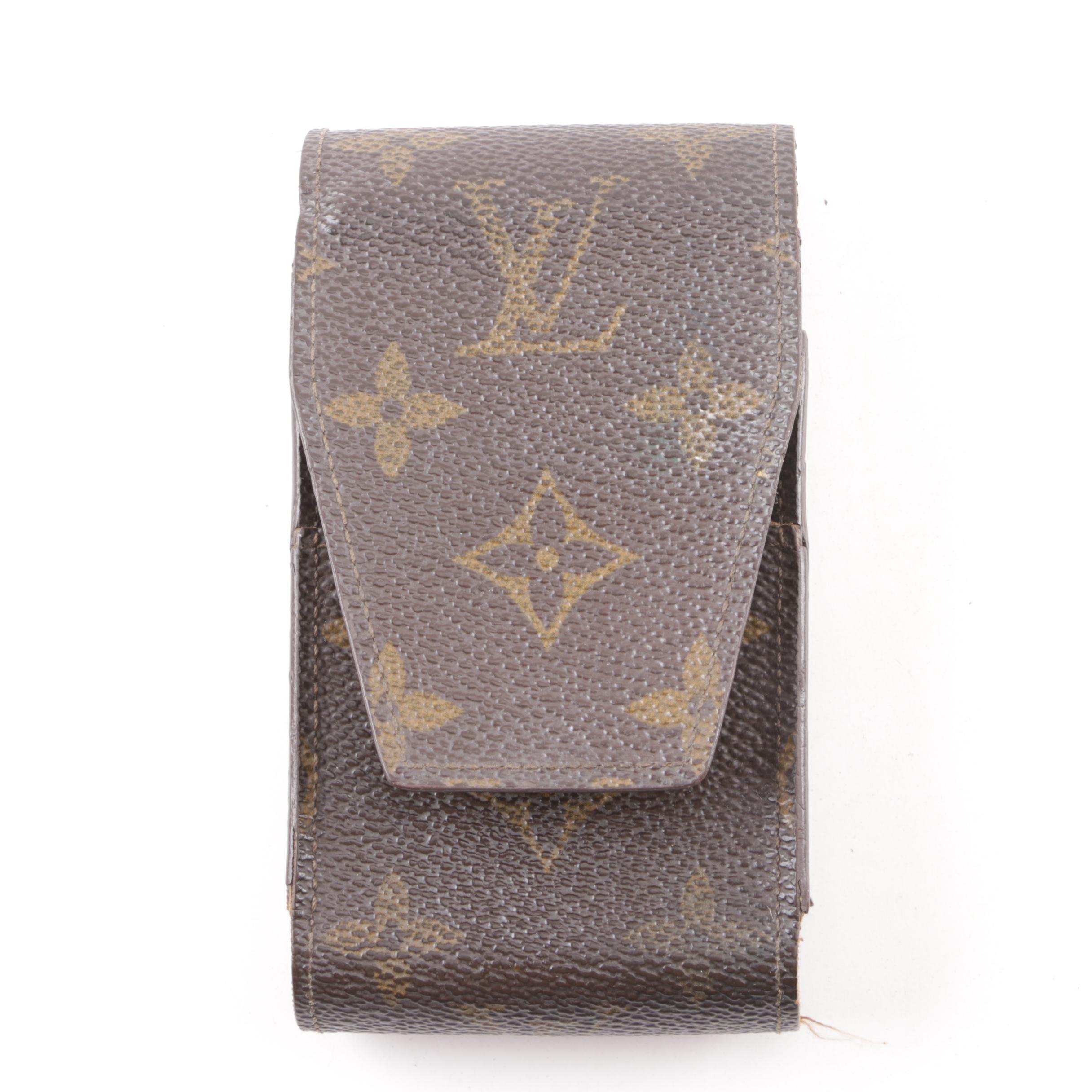1992 Vintage Louis Vuitton Monogram Canvas Phone Case