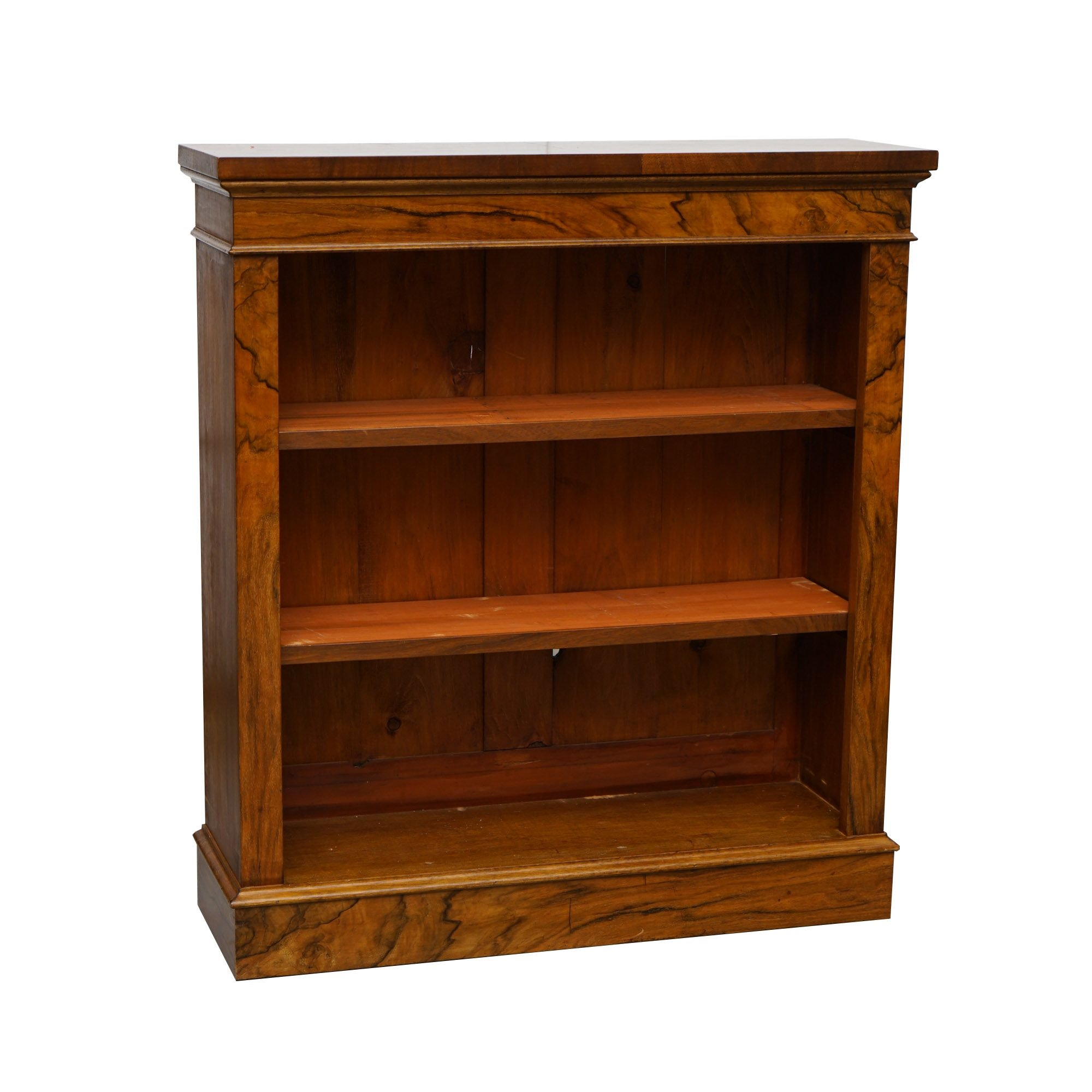 Vintage Walnut Bookcase