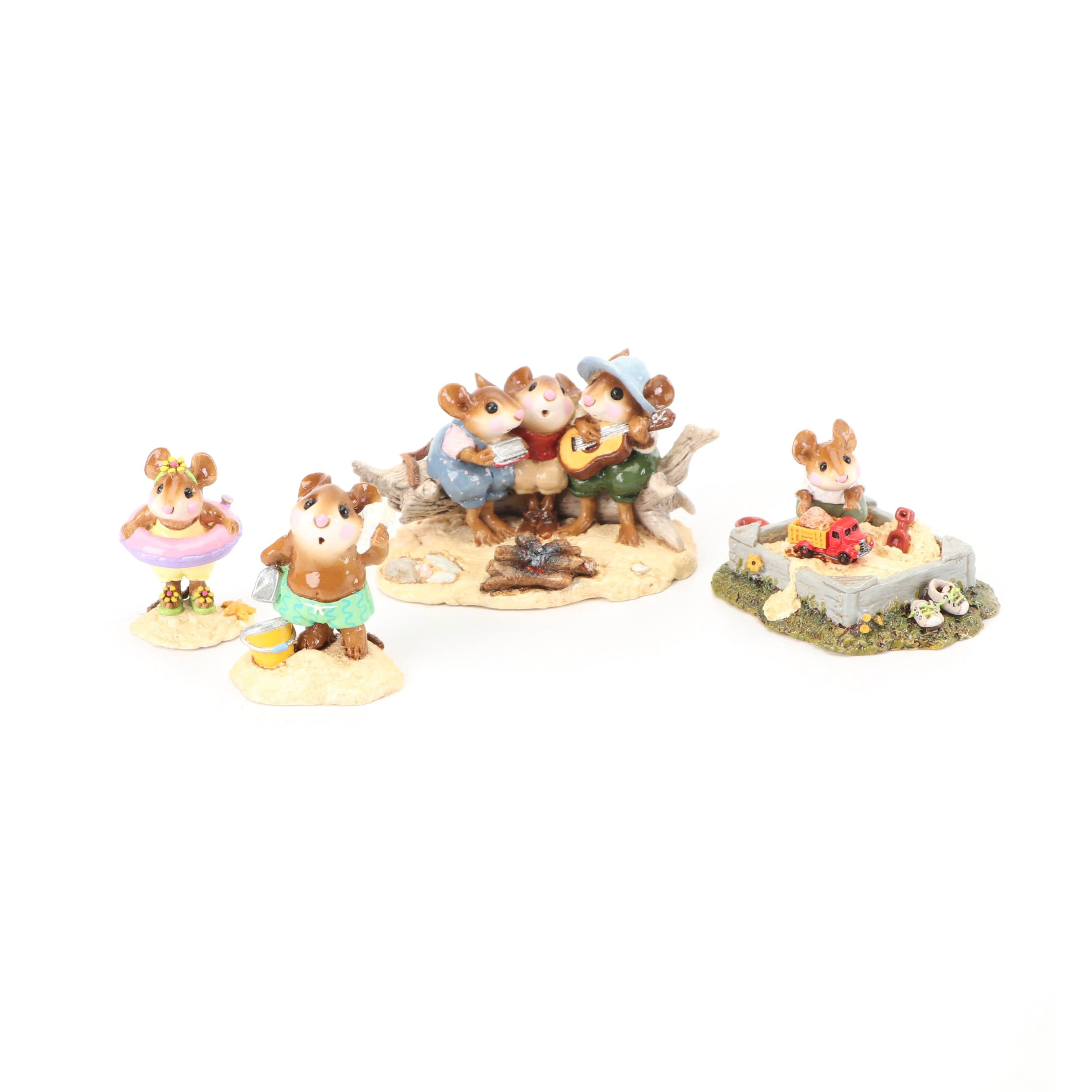 """""""Wee Forest Folk"""" Figurines by Donna, Annette, and William Peterson"""