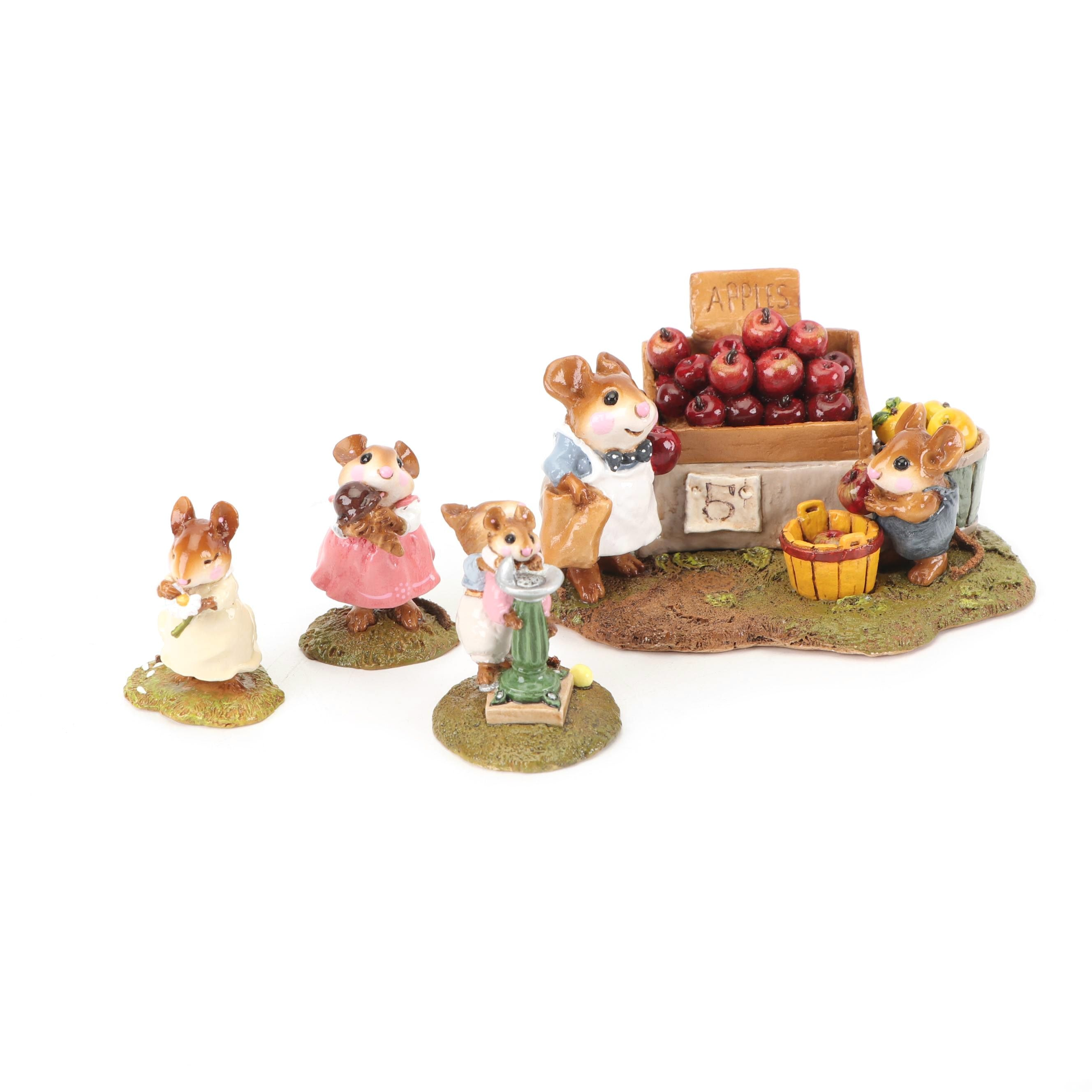 """""""Wee Forest Folk"""" Figurines by William and Annette Petersen"""