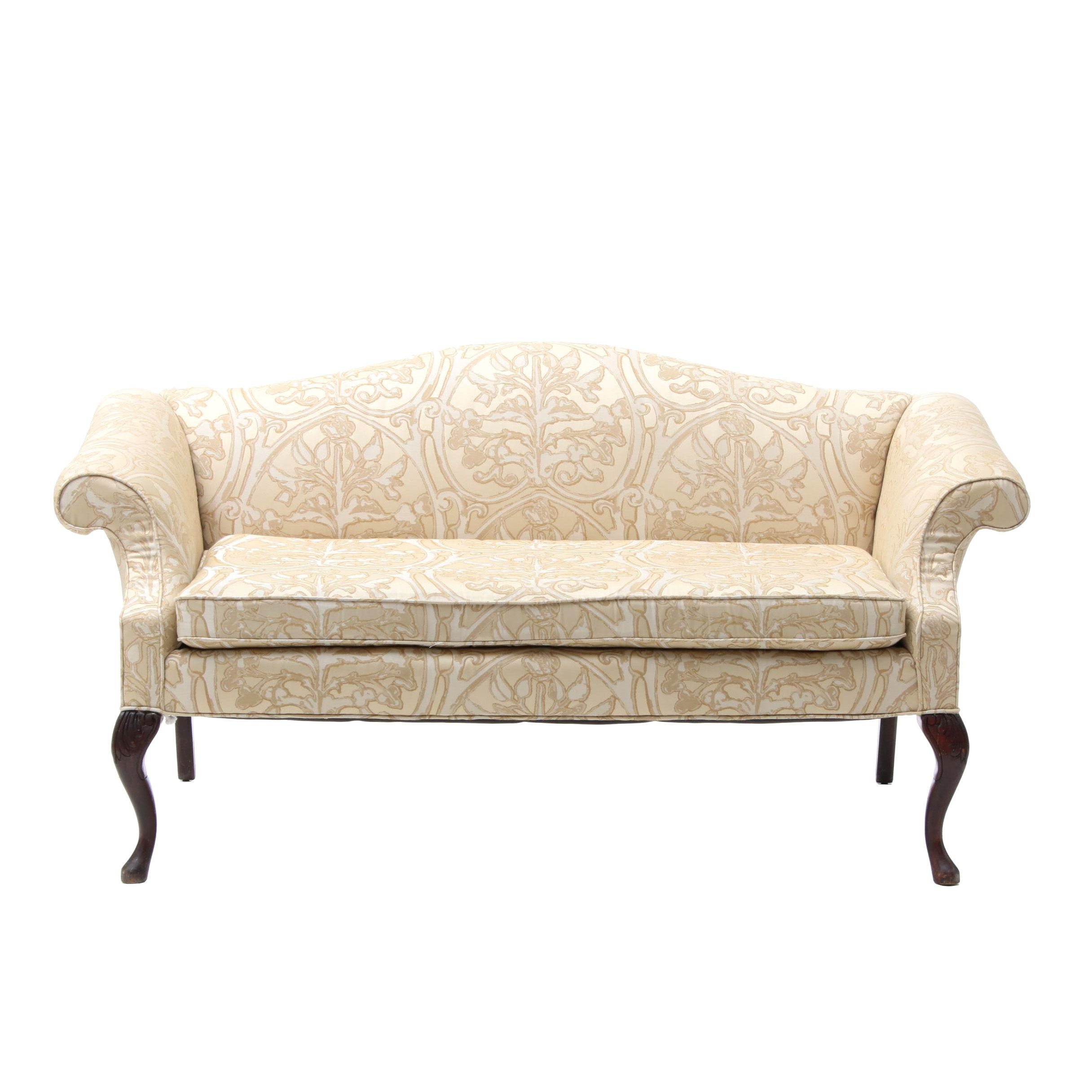 Queen Anne Style Love Seat