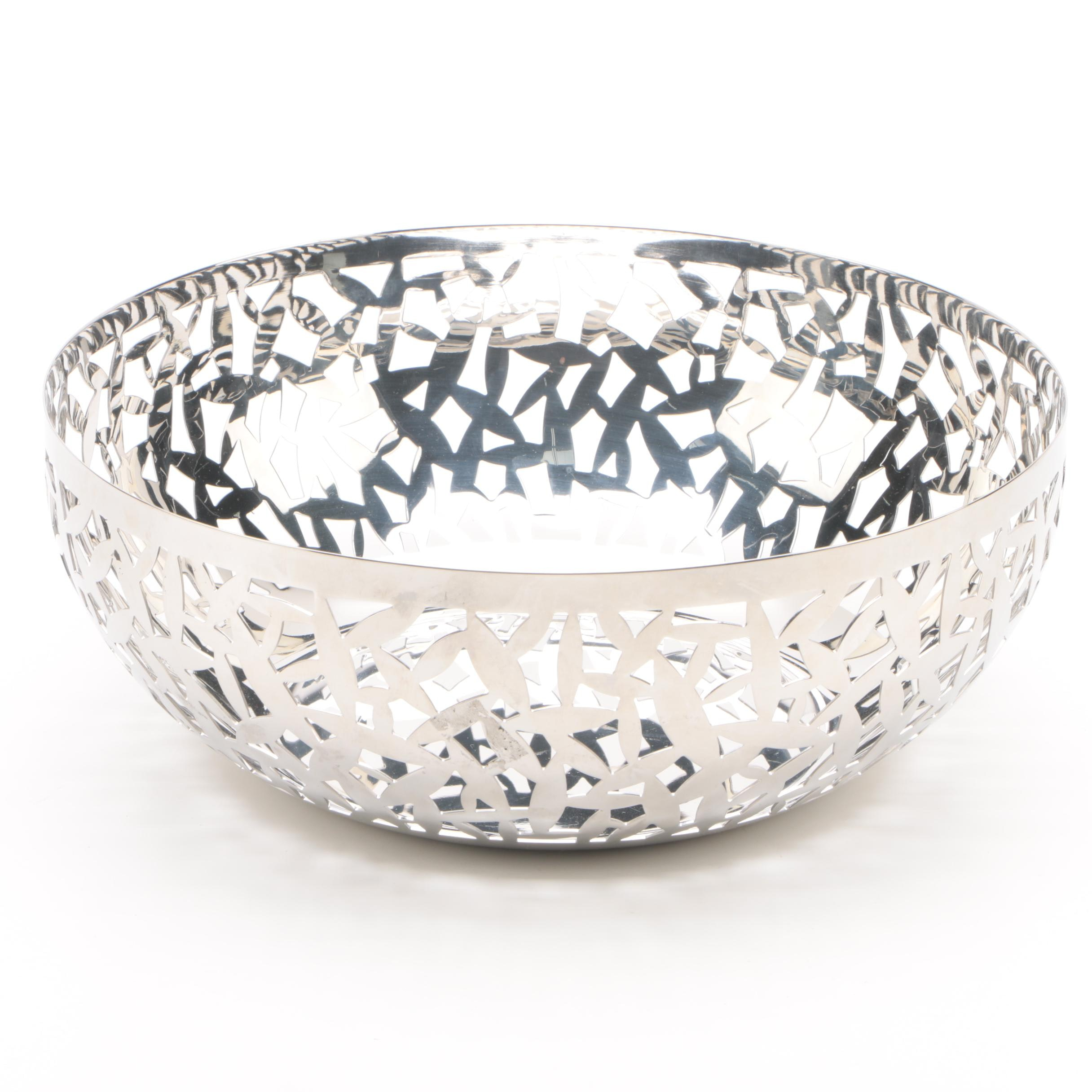 "Alessi ""Cactus"" Pierced Bowl by Marta Sansoni"