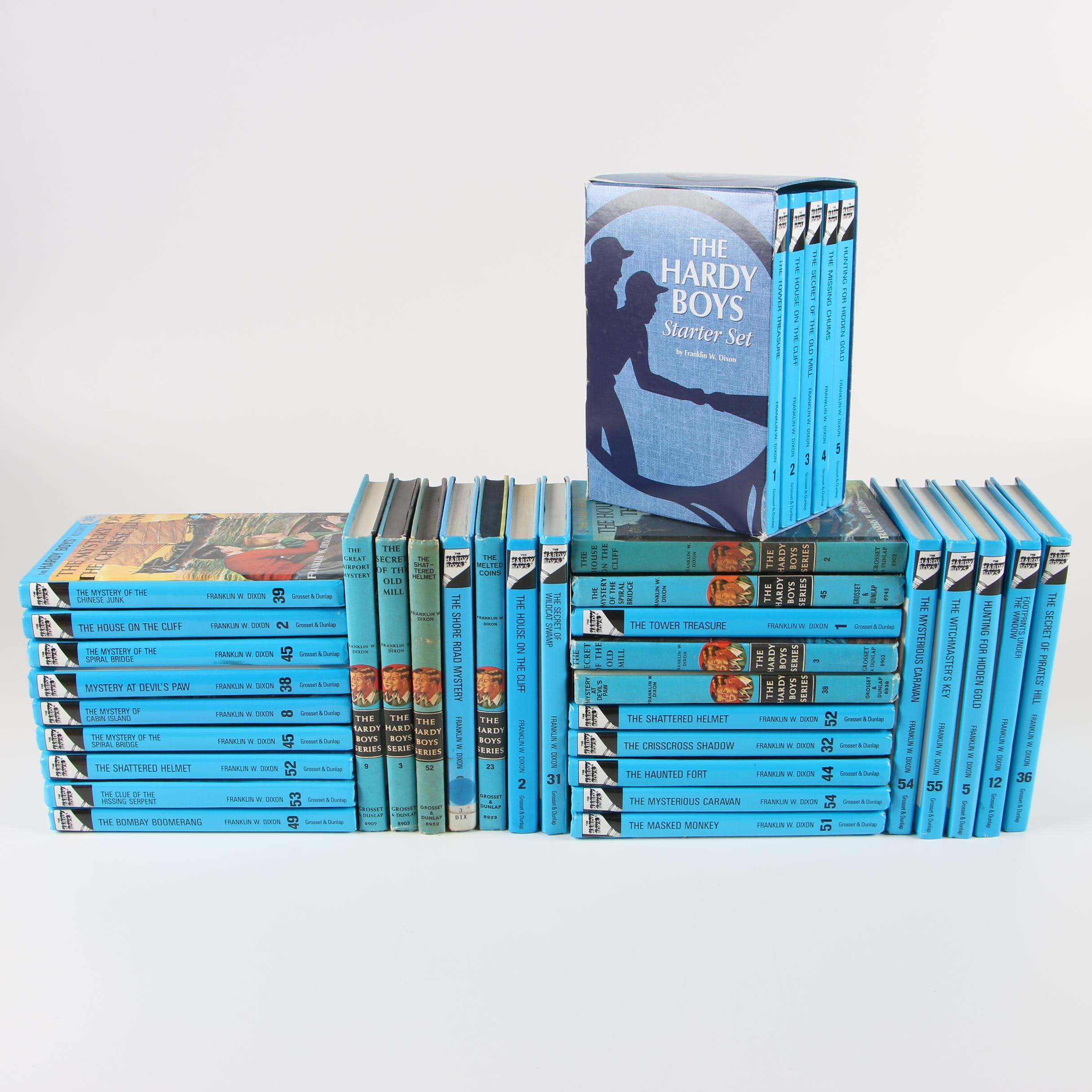 """""""The Hardy Boys"""" Vintage and Contemporary Reprints"""