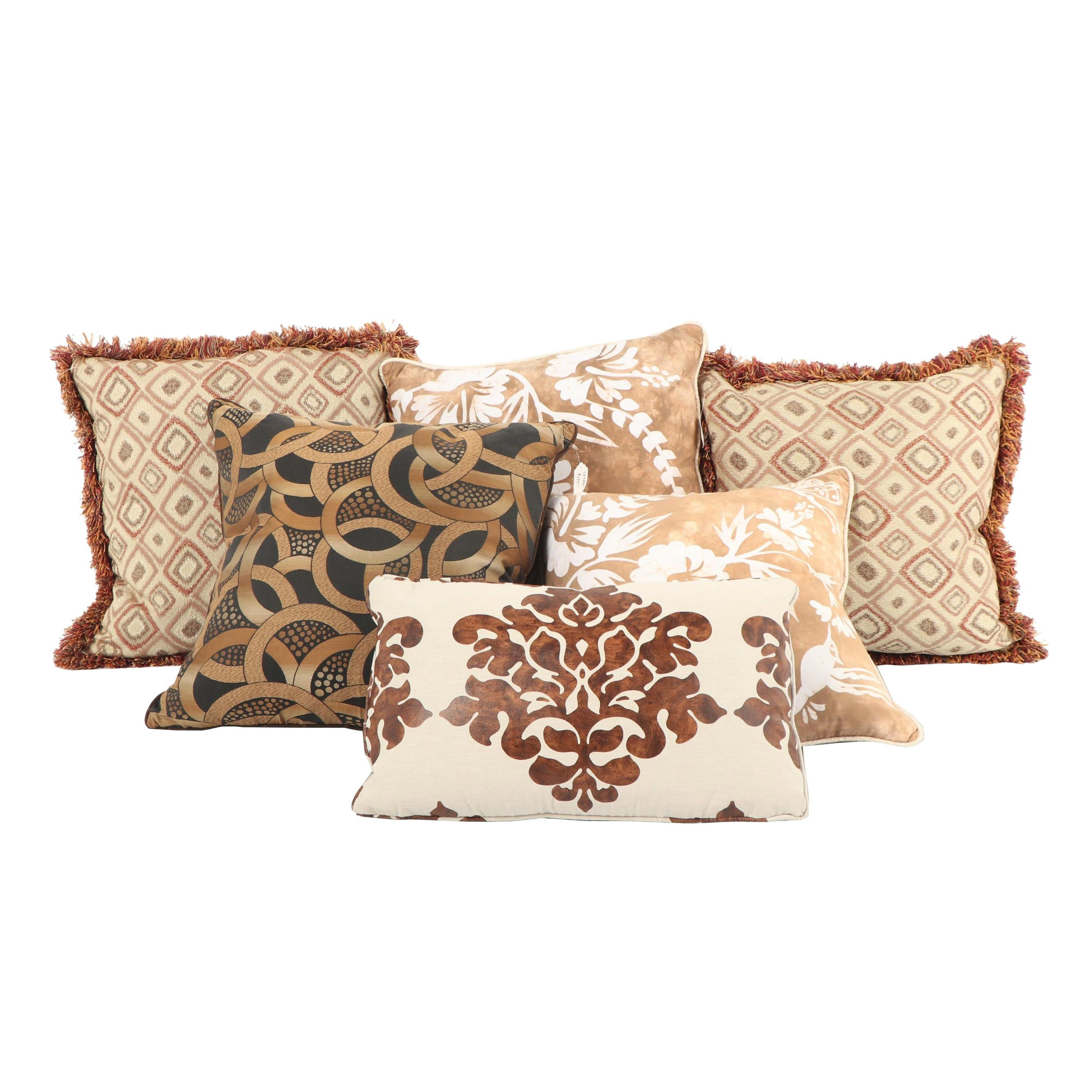 Custom Made Down-Filled Accent Pillows
