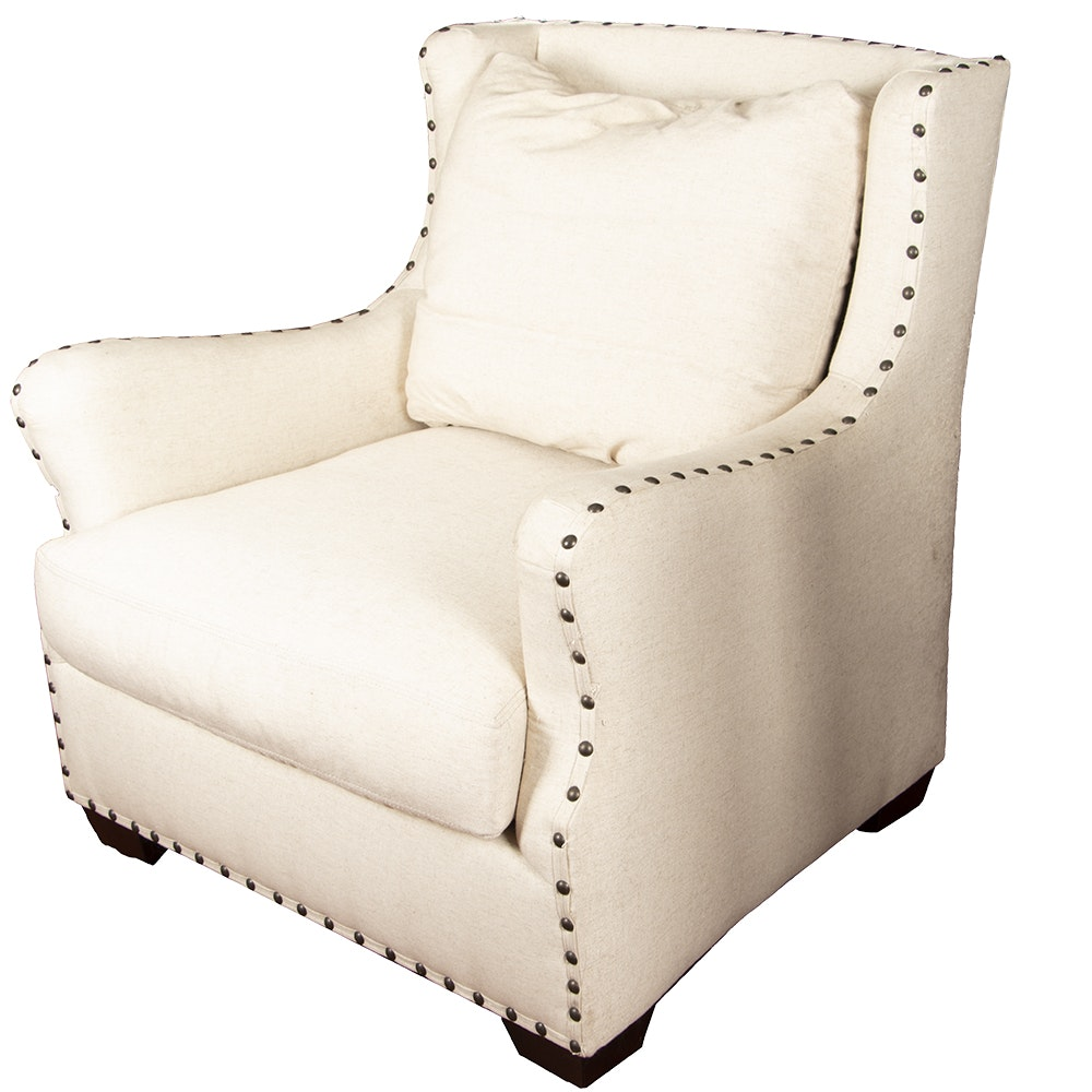 Contemporary Upholstered Armchair by Universal