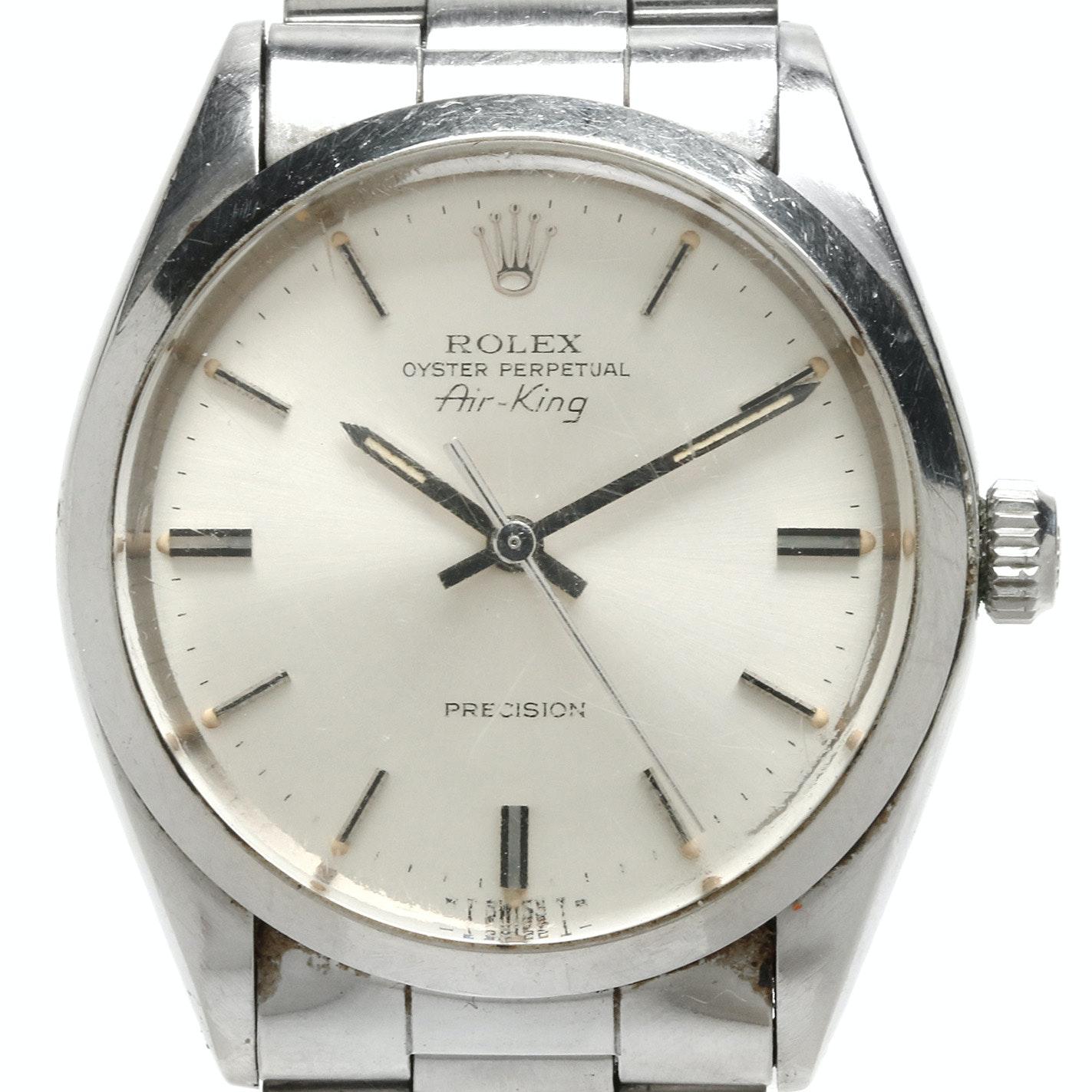 "1979 Rolex Stainless Steel ""Air King"" Wristwatch"