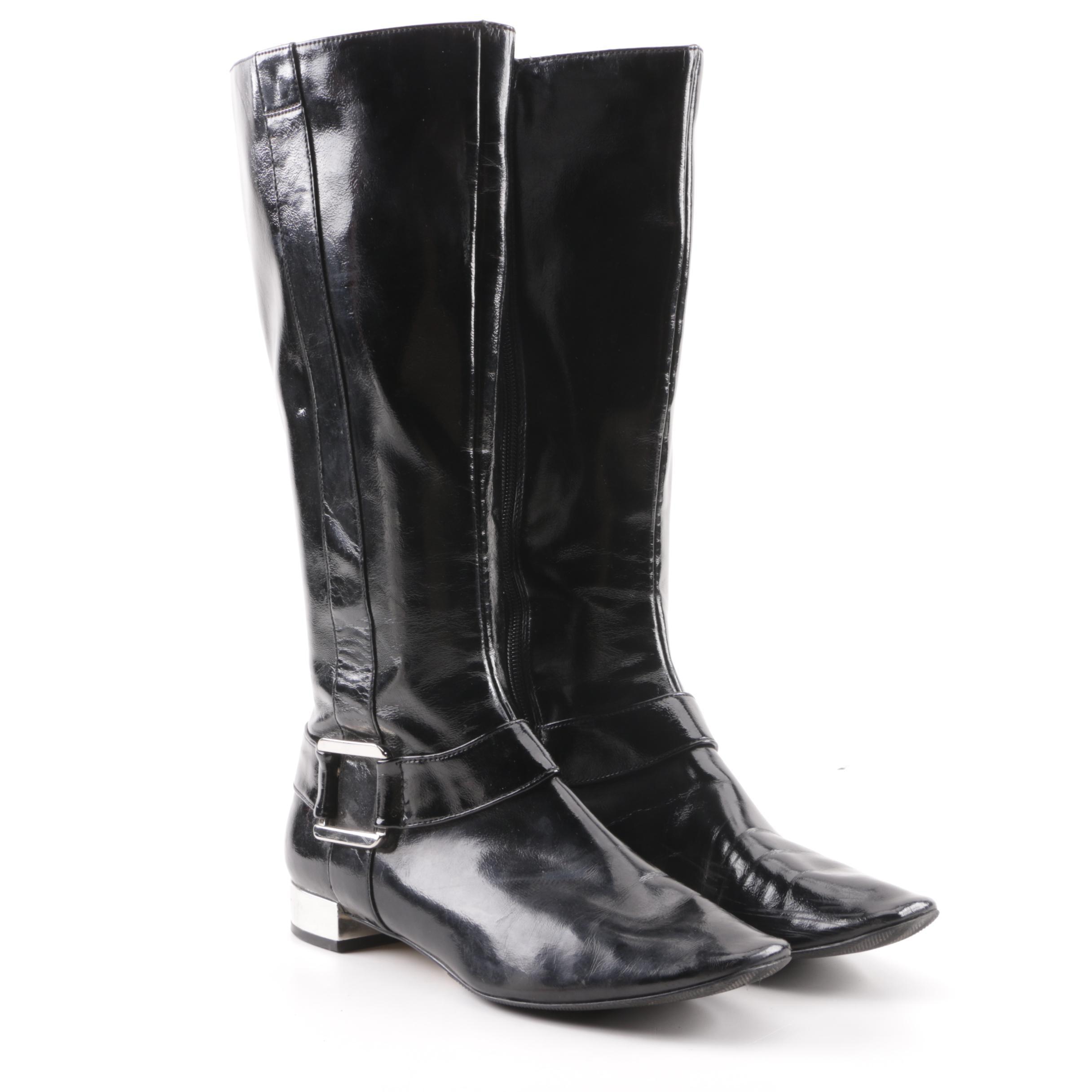Women's Tahari Karl Black Riding Boots