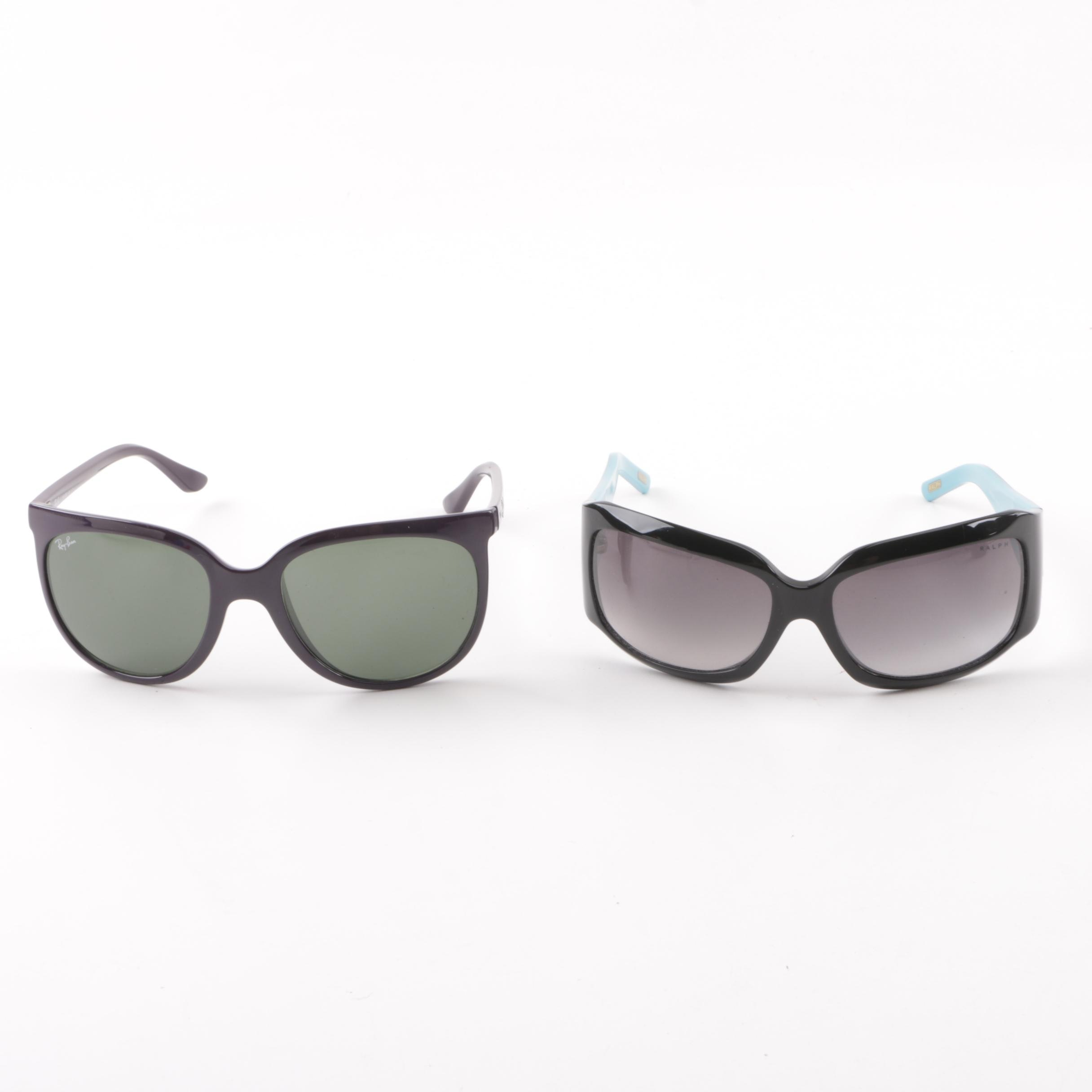 Ray-Ban CATS 1000 and Ralph by Ralph Lauren Sunglasses