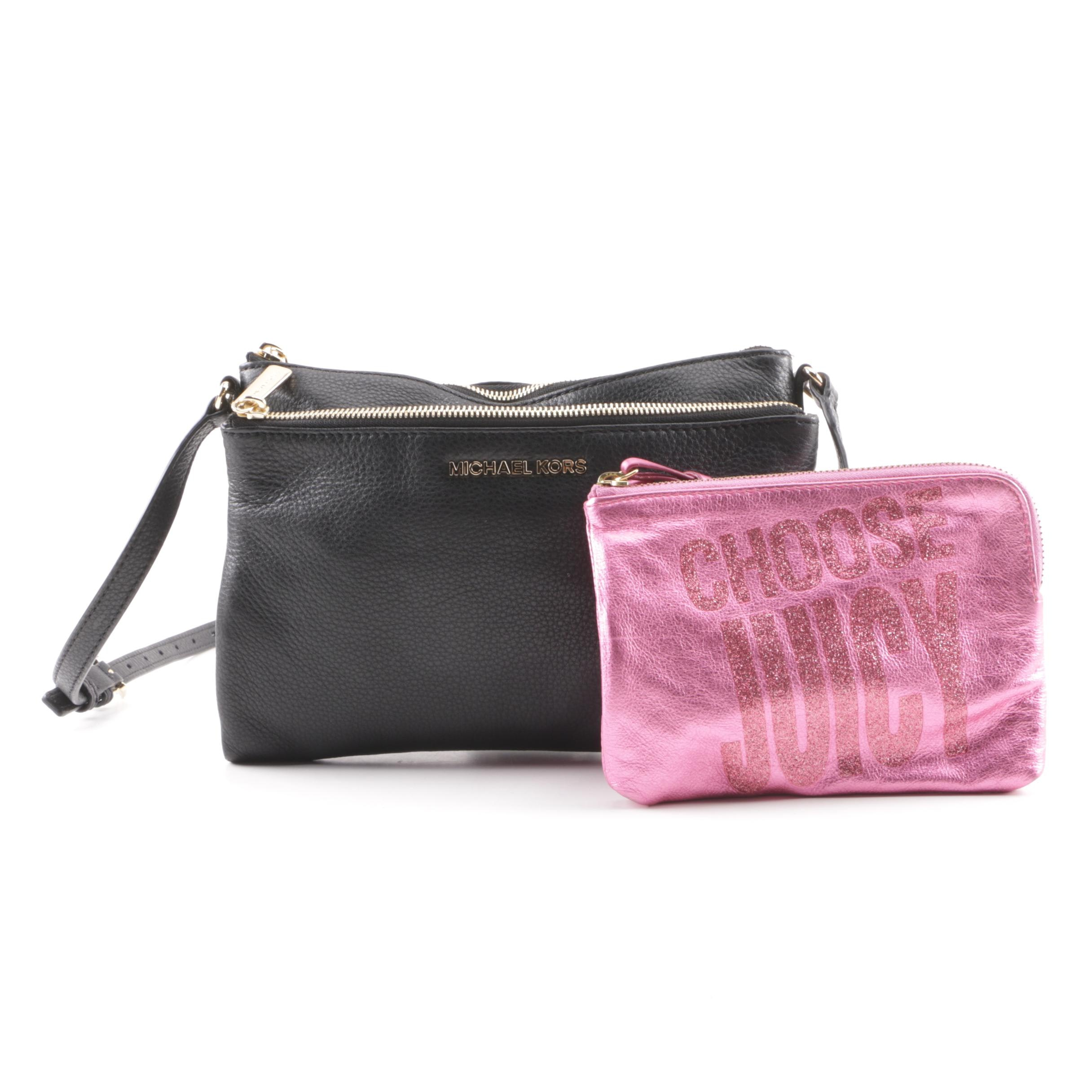 Michael Kors Crossbody and Juicy Couture Wristlet