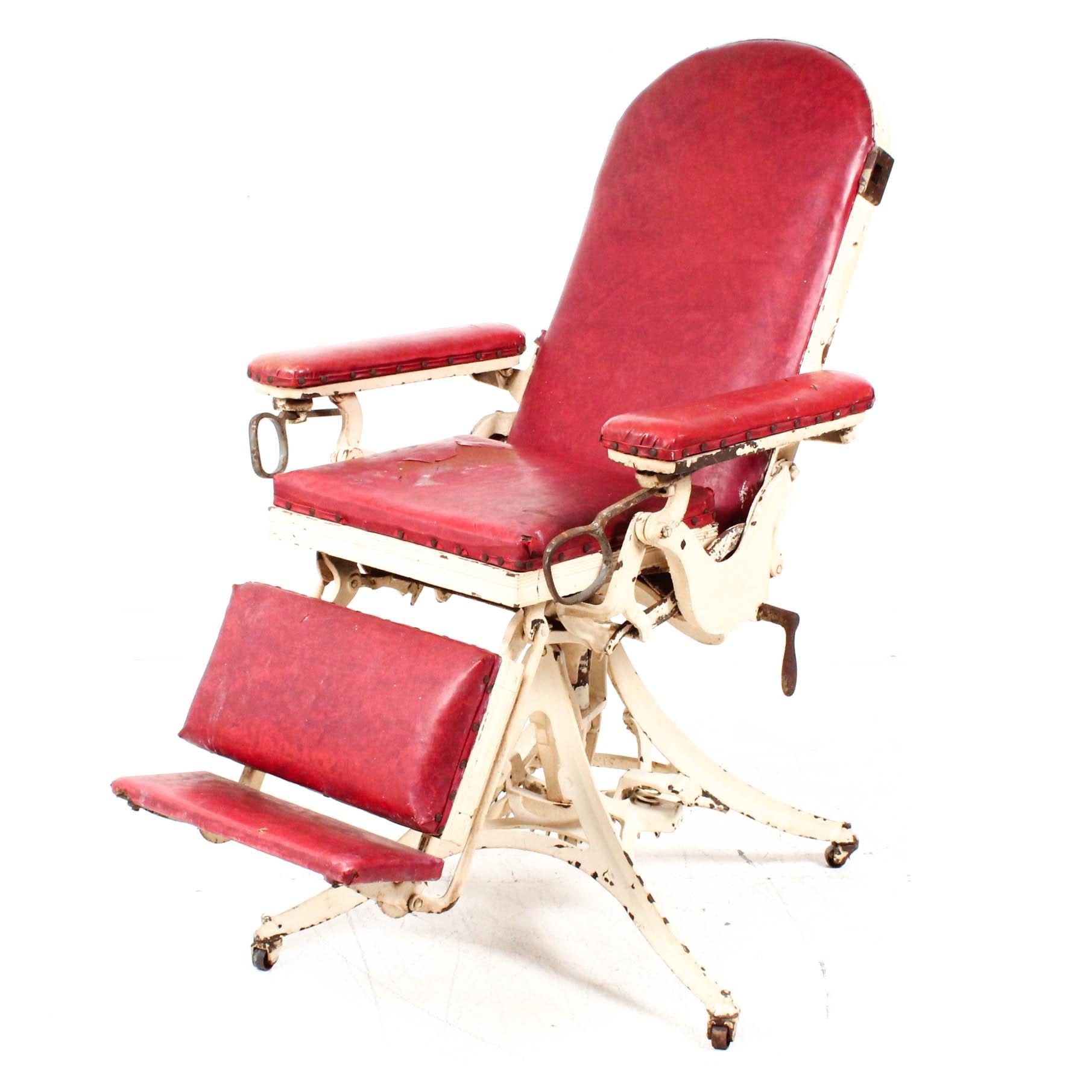 Circa 1900 Doctor's Examination Chair