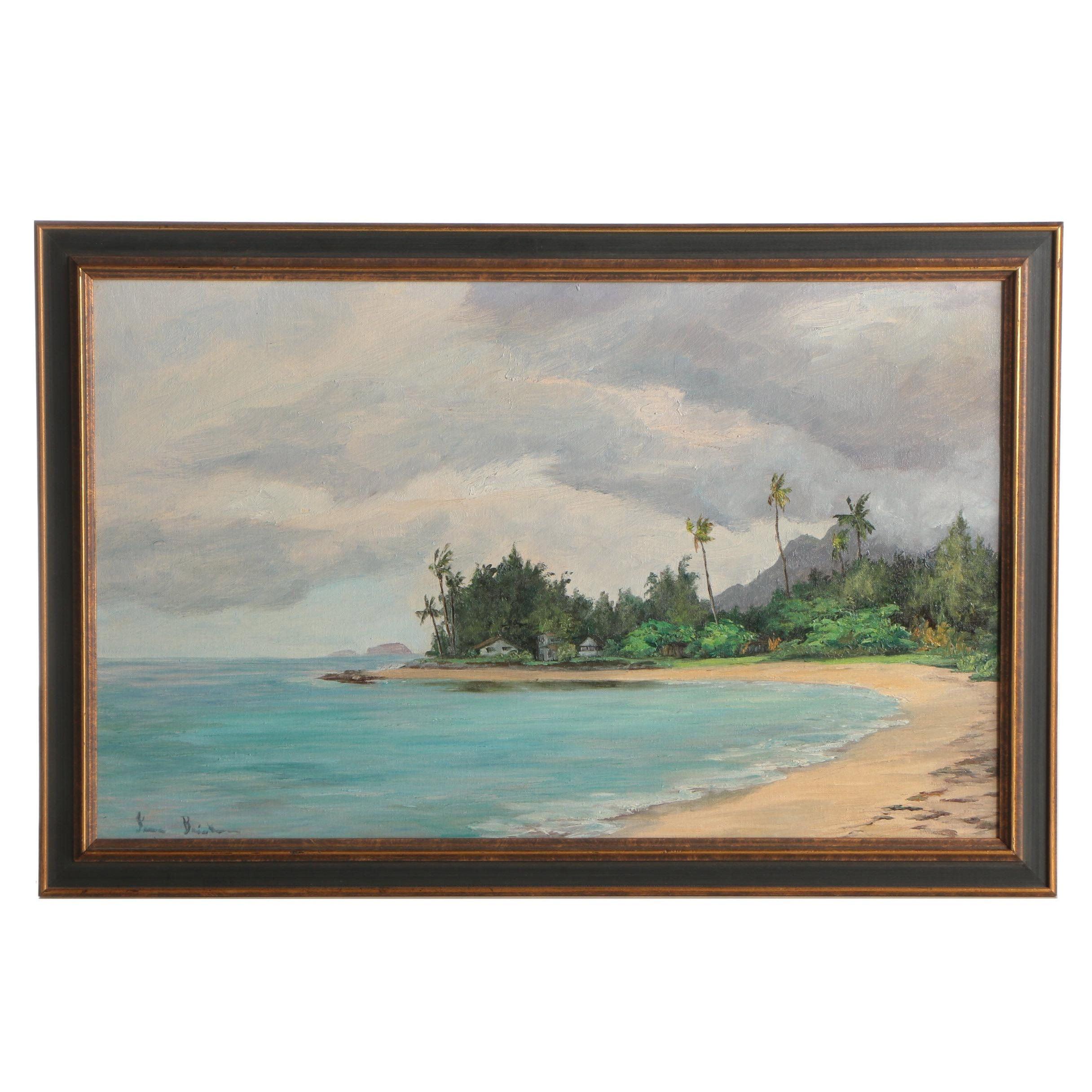 Irma Brickman Landscape Oil Painting