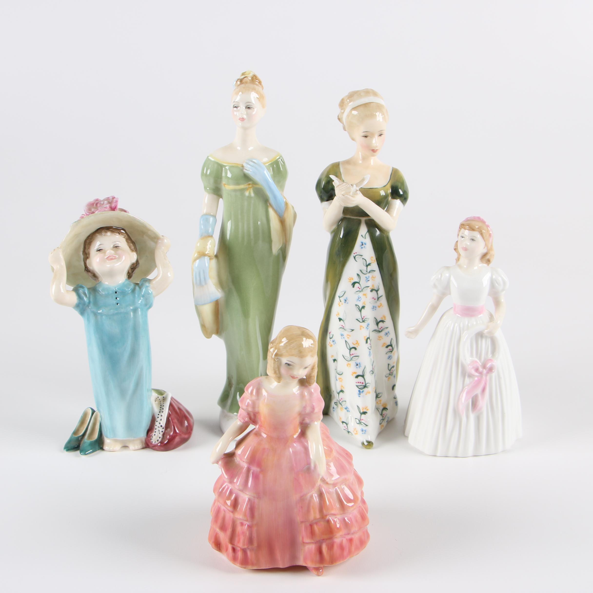 Royal Doulton Bone China Figurines