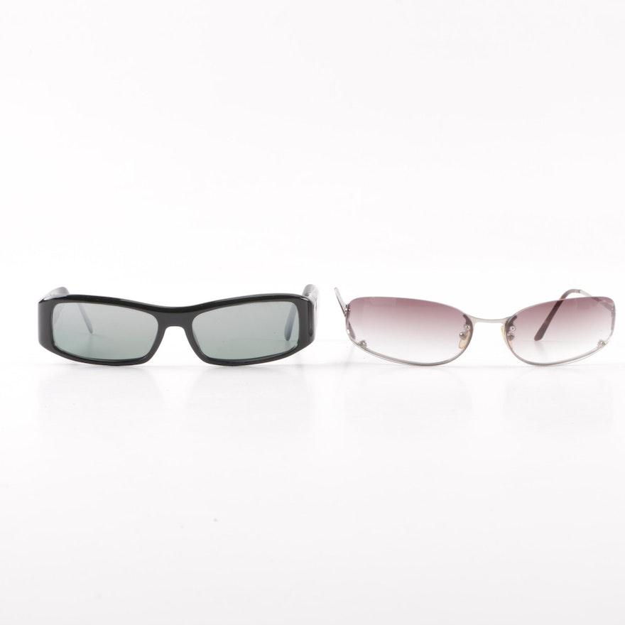 b211707f7e Prada SPR02E and SPR50D Sunglasses with Case