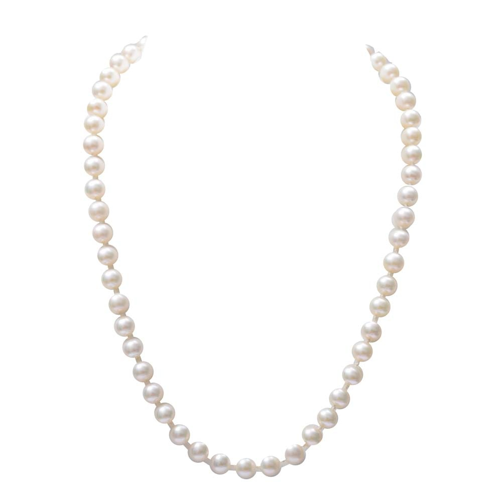 14K Yellow Gold and Freshwater Cultured Pearl Strand Necklace