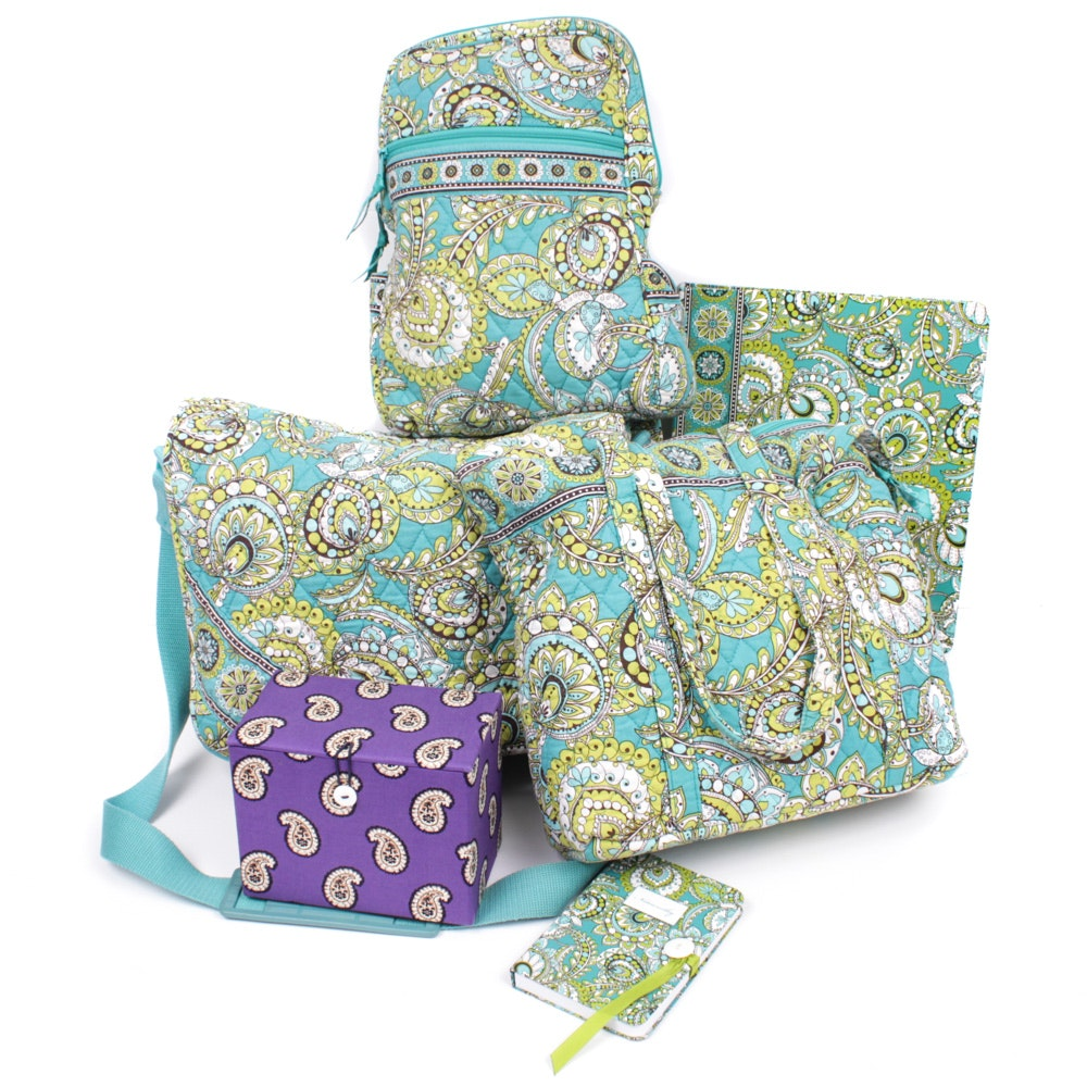 Vera Bradley Quilted Cotton Satchel, Handbags and Accessories