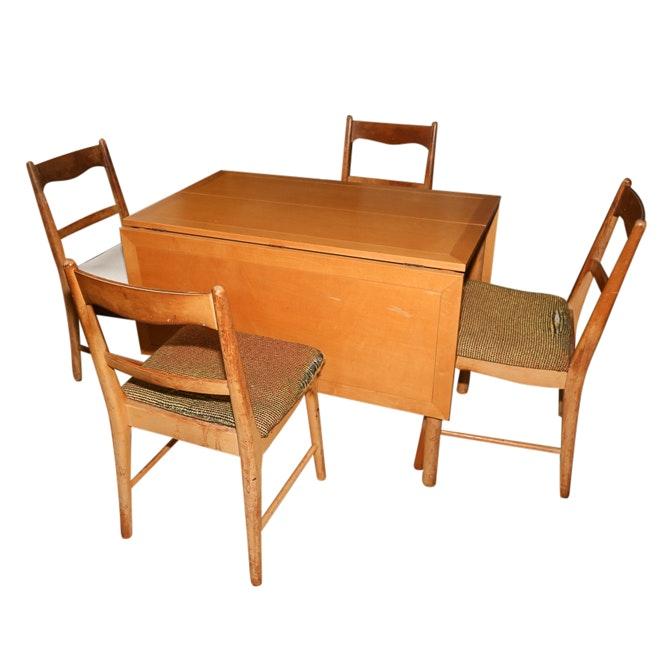 Mid Century Modern Dining Set by Sligh