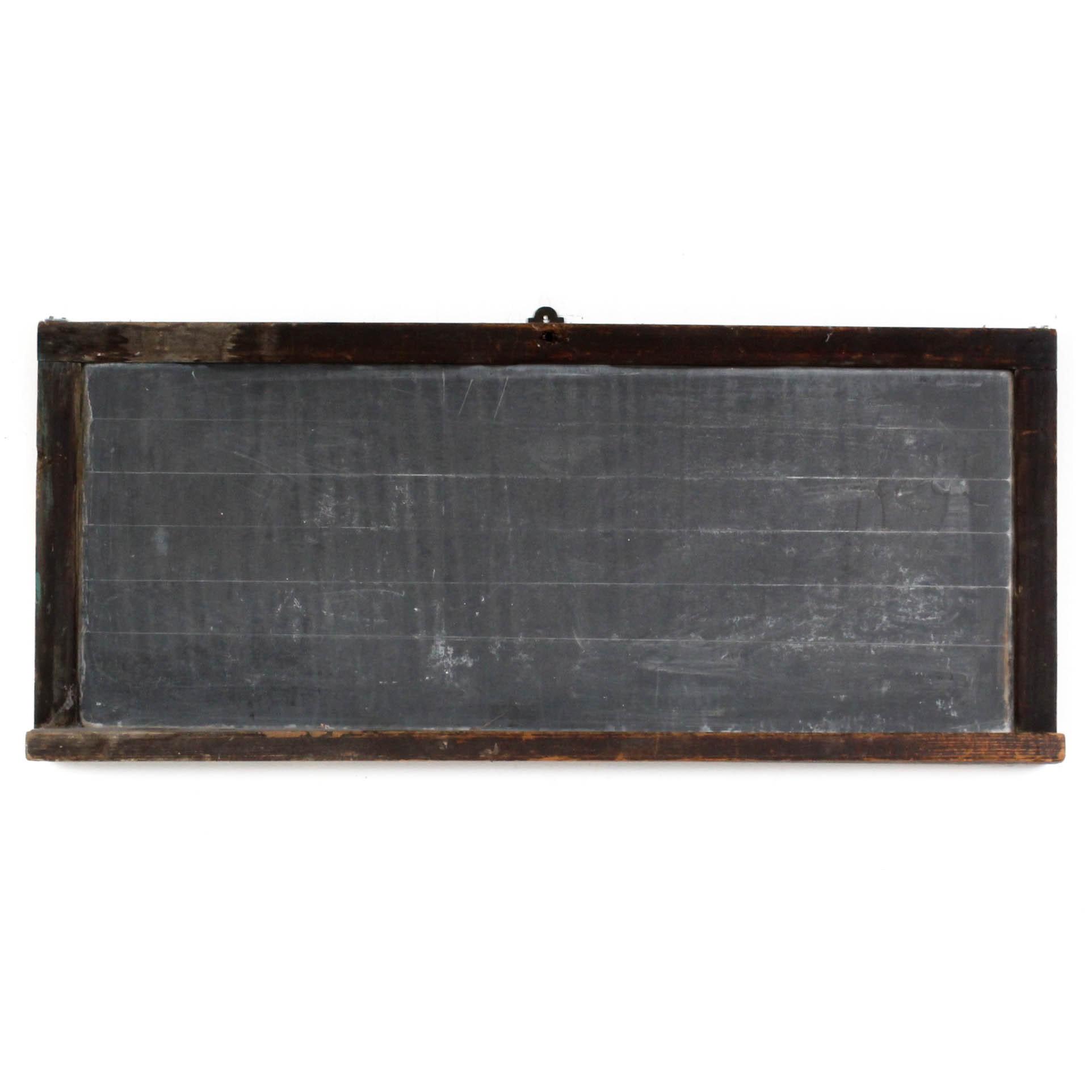 Antique Hanging Chalkboard