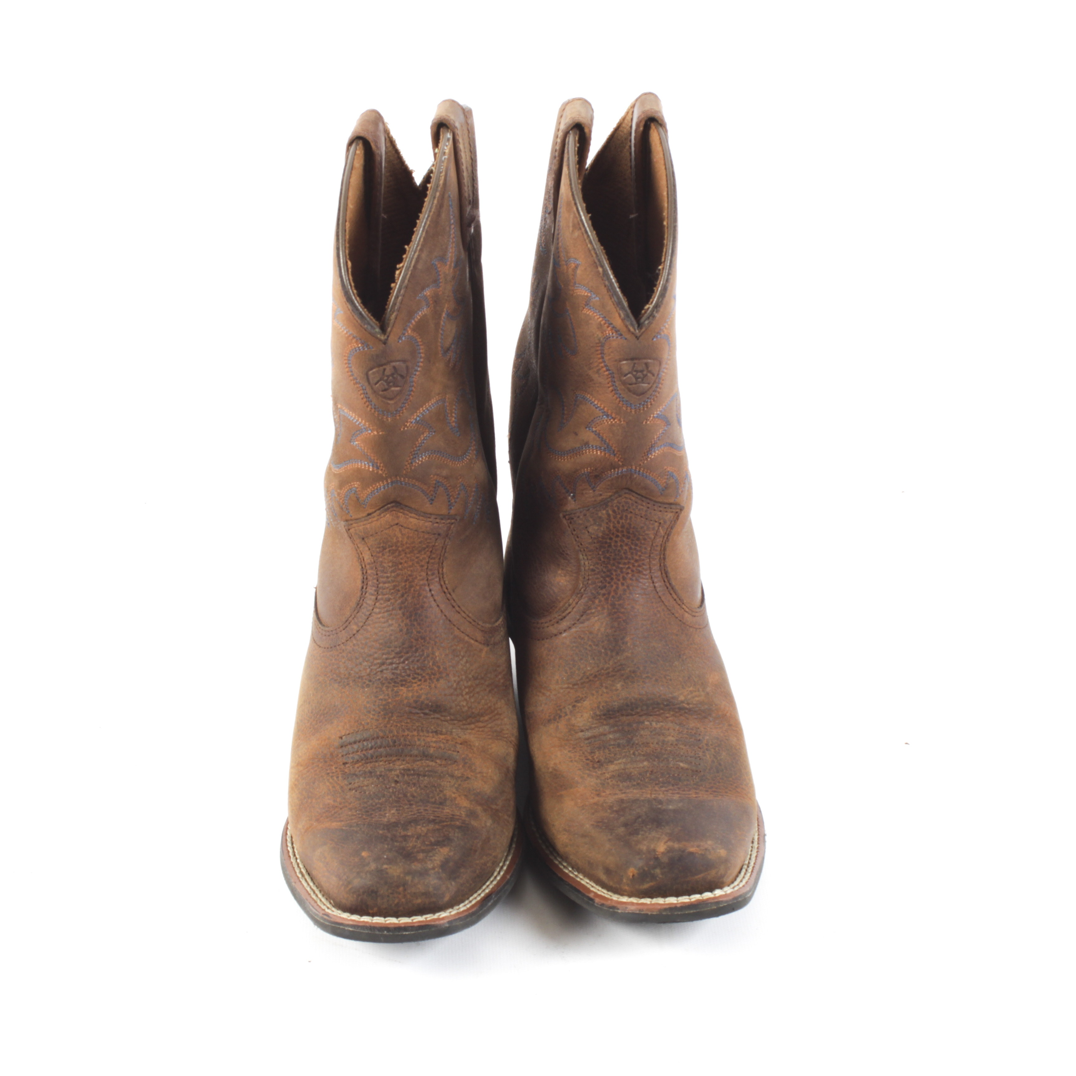 Ariat Legend Brown Leather Western Boots