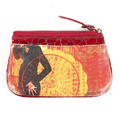 1bf6231ac0f7 Jeon Los Angeles Leather Pouch