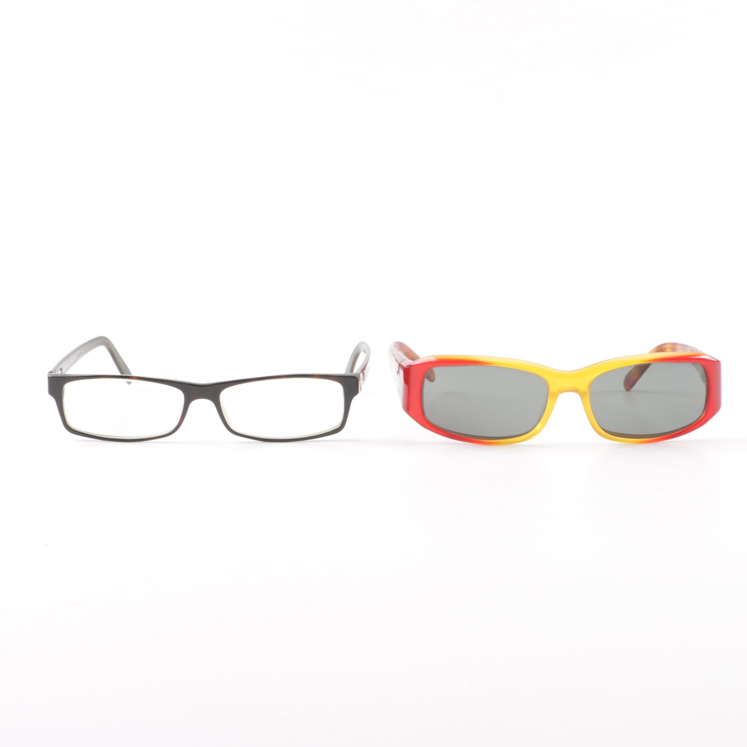 Prada Sunglasses and Prescription Eyeglasses
