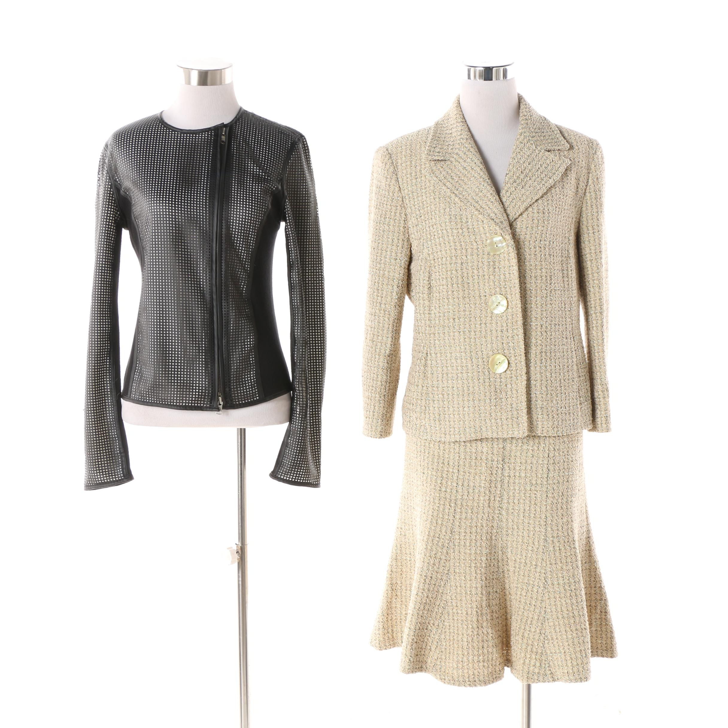 Women's Armani Exchange Carey Jacket and Georges Rech Skirt Suit