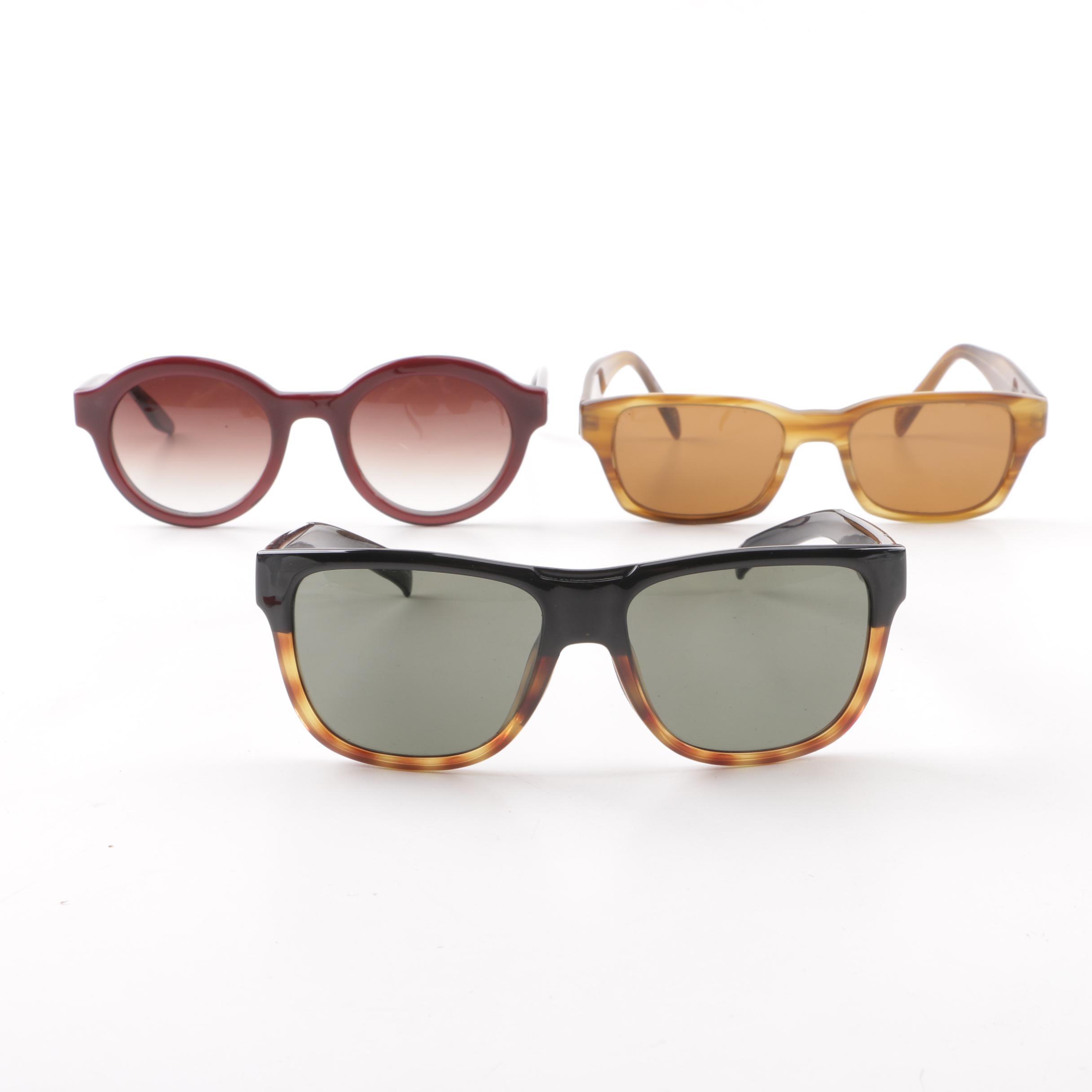 Paul Smith, Smith Optics and Barton Perreira Sunglasses