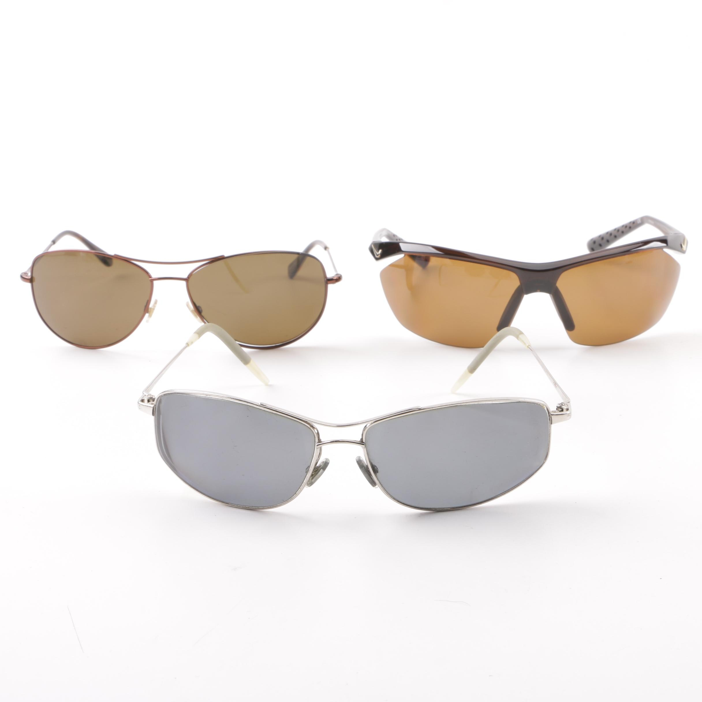 Kate Spade and Nike Sunglasses with Oliver Peoples Prescription Sunglasses