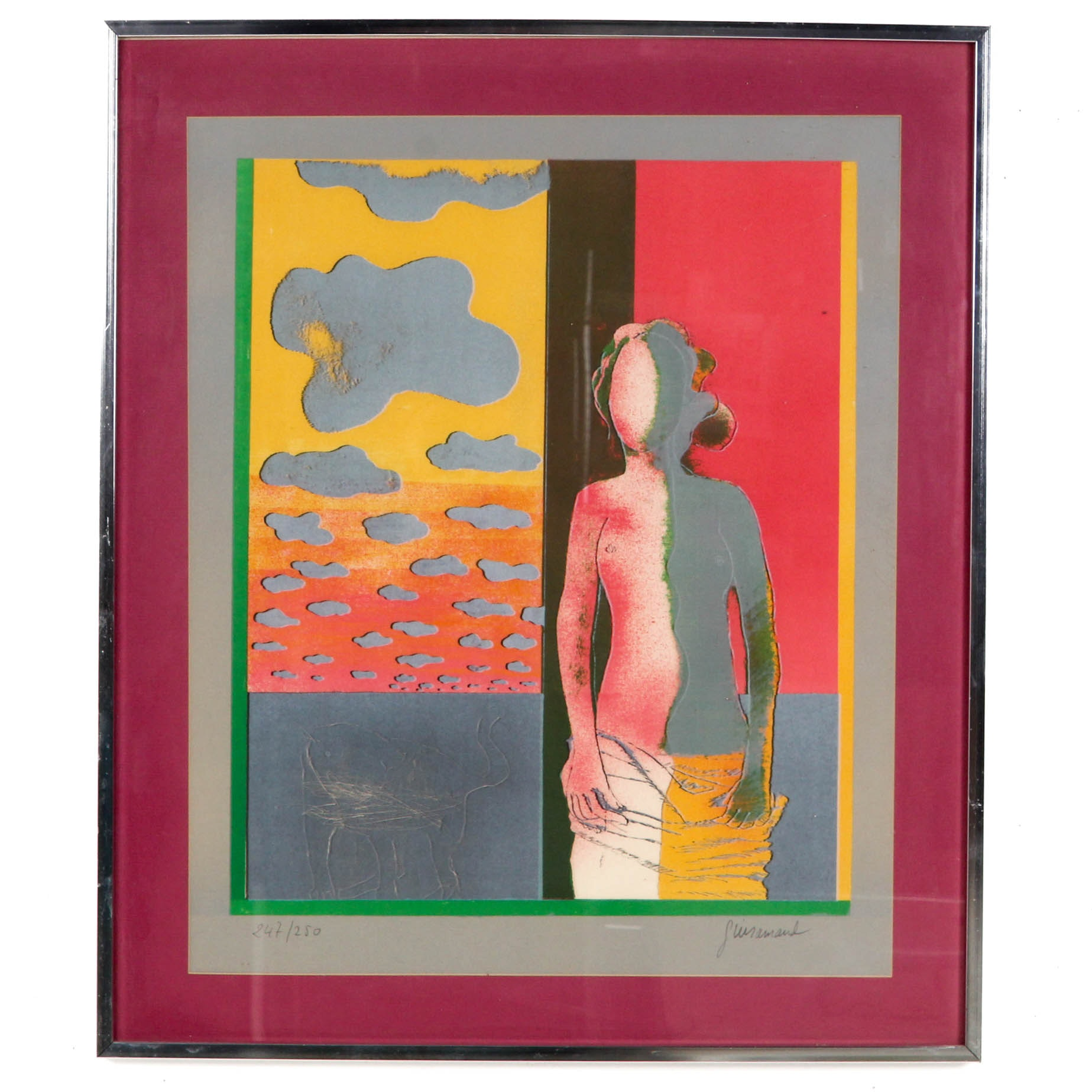 Paul Guiramand Limited Edition Lithograph