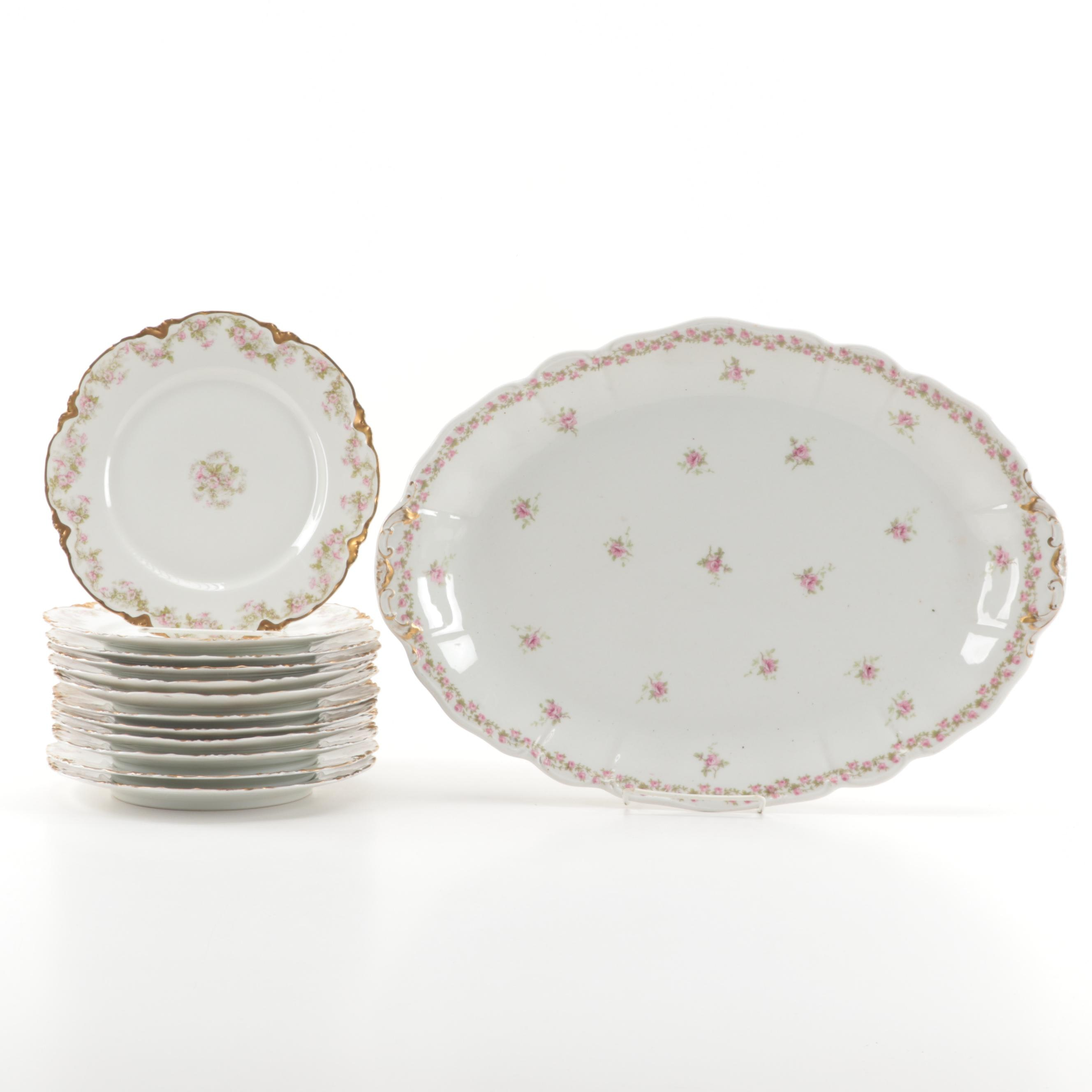 Haviland Limoges Porcelain Serveware and Plates c.1889-1931