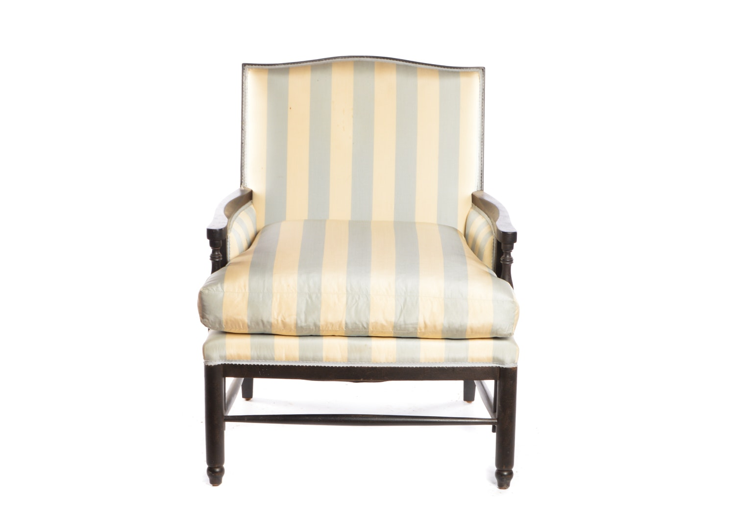 """Normandie"" Upholstered Armchair by Minton-Spidell, 21st Century"