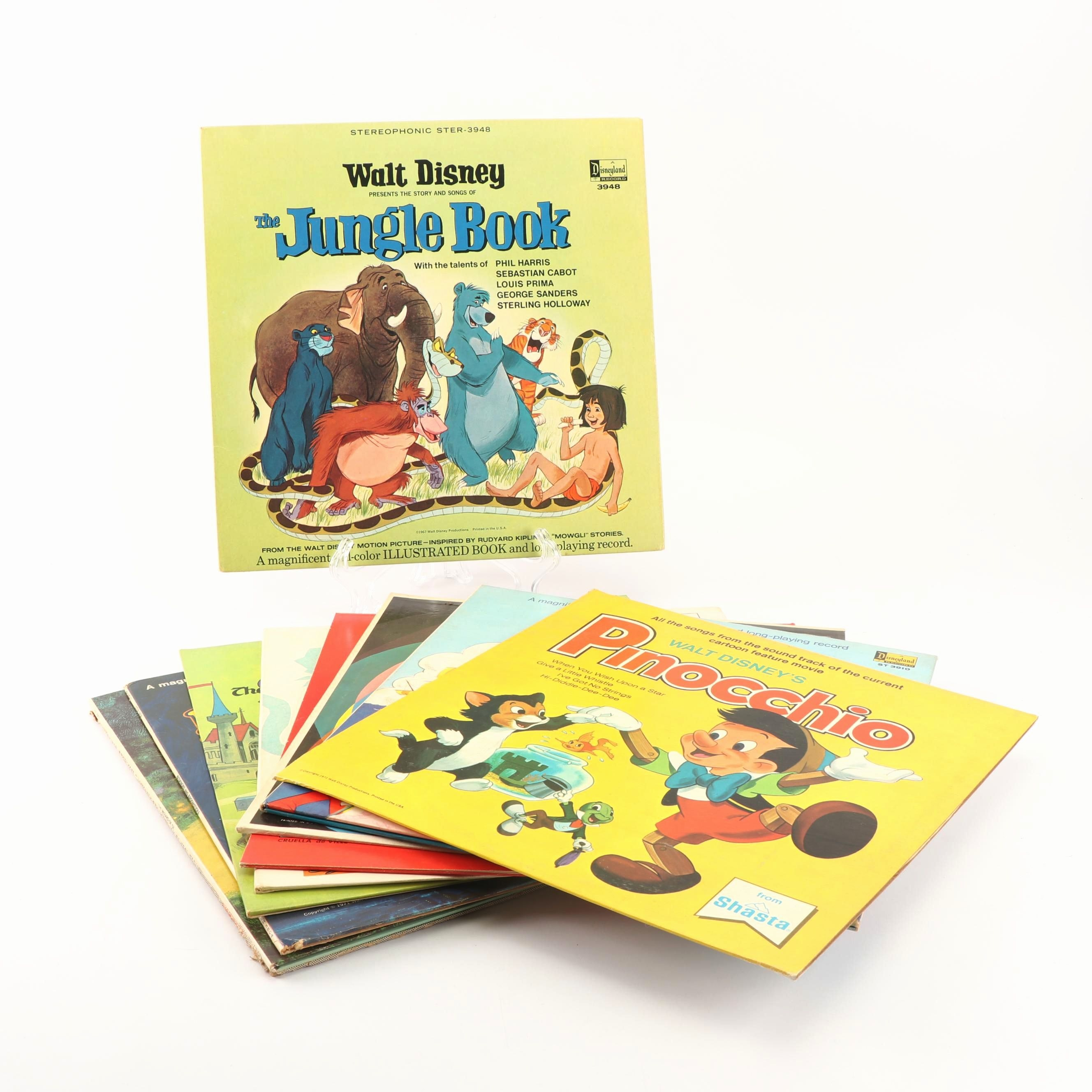The Jungle Book Pinocchio Peter Pan And Other Vintage