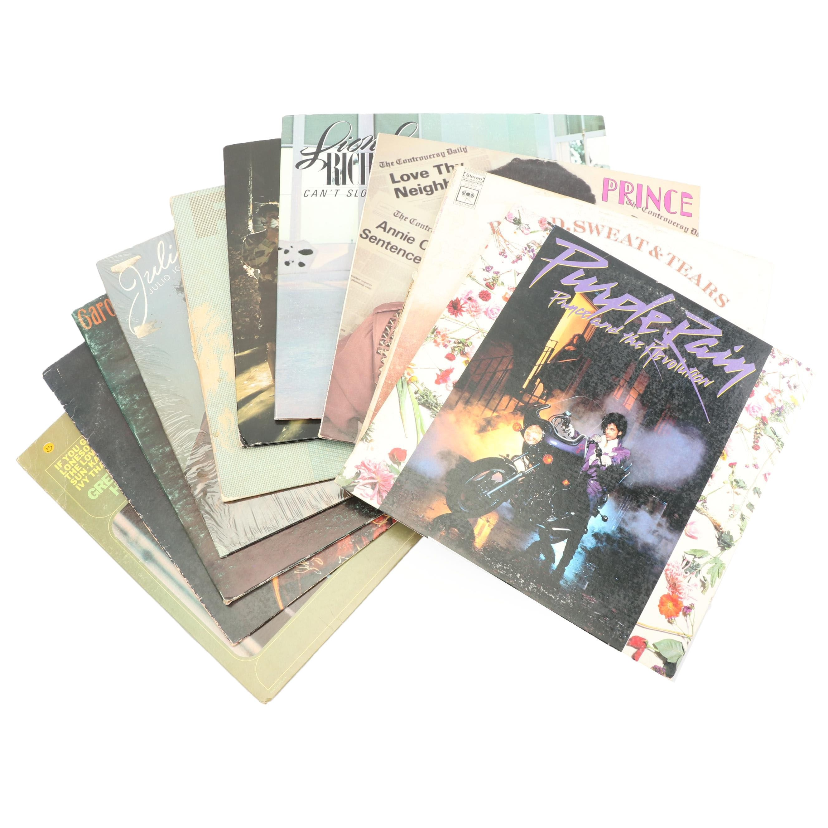 Prince, Lionel Richie, The Guess Who and Other Pop, Rock and Folk Records
