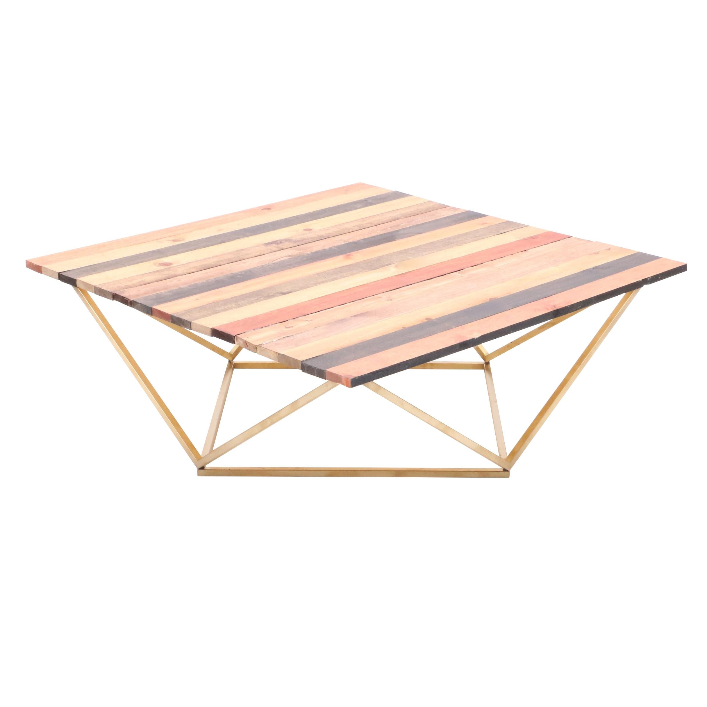 Handmade Contemporary Coffee Table by Duane Froelicher