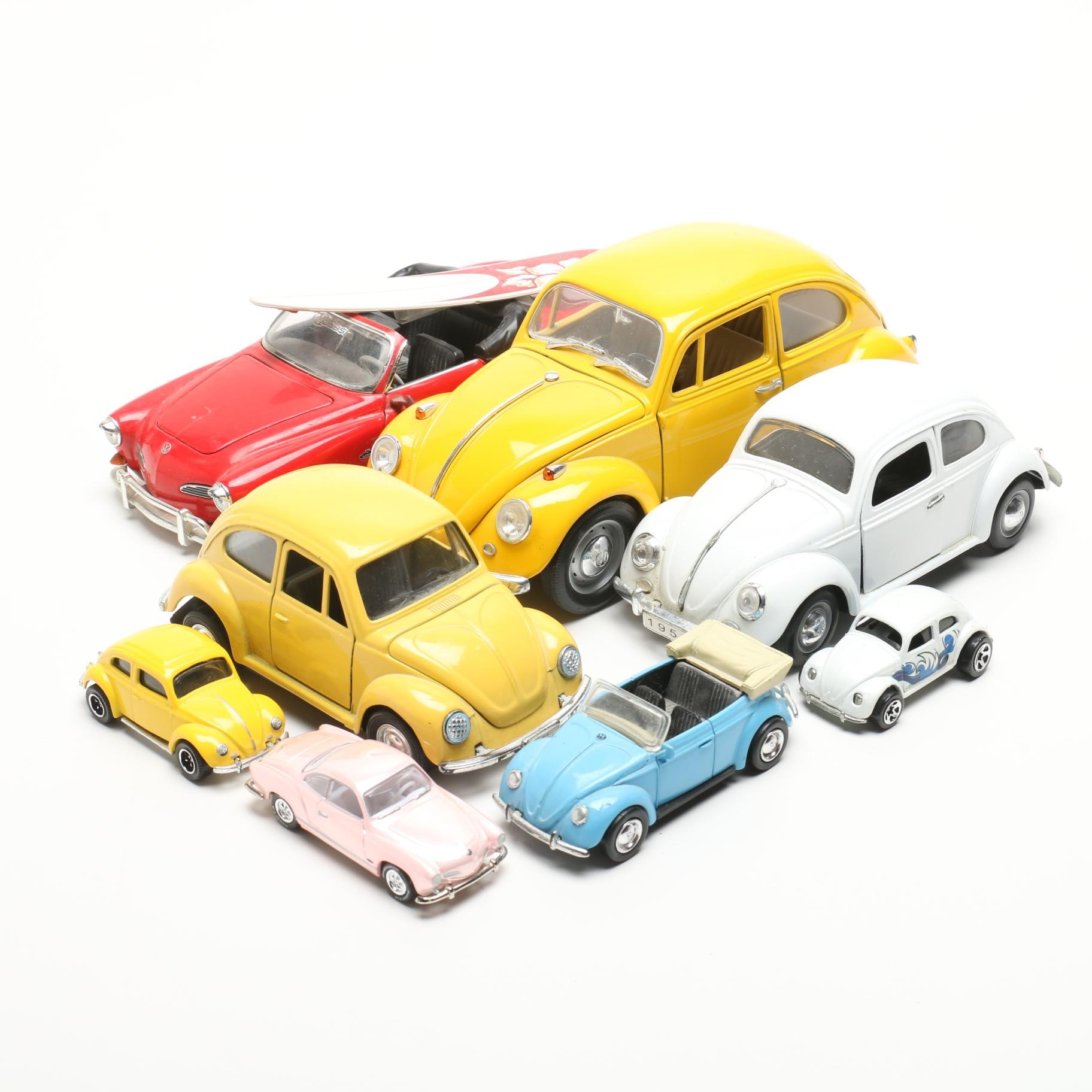 Die-Cast Metal Volkswagen Cars