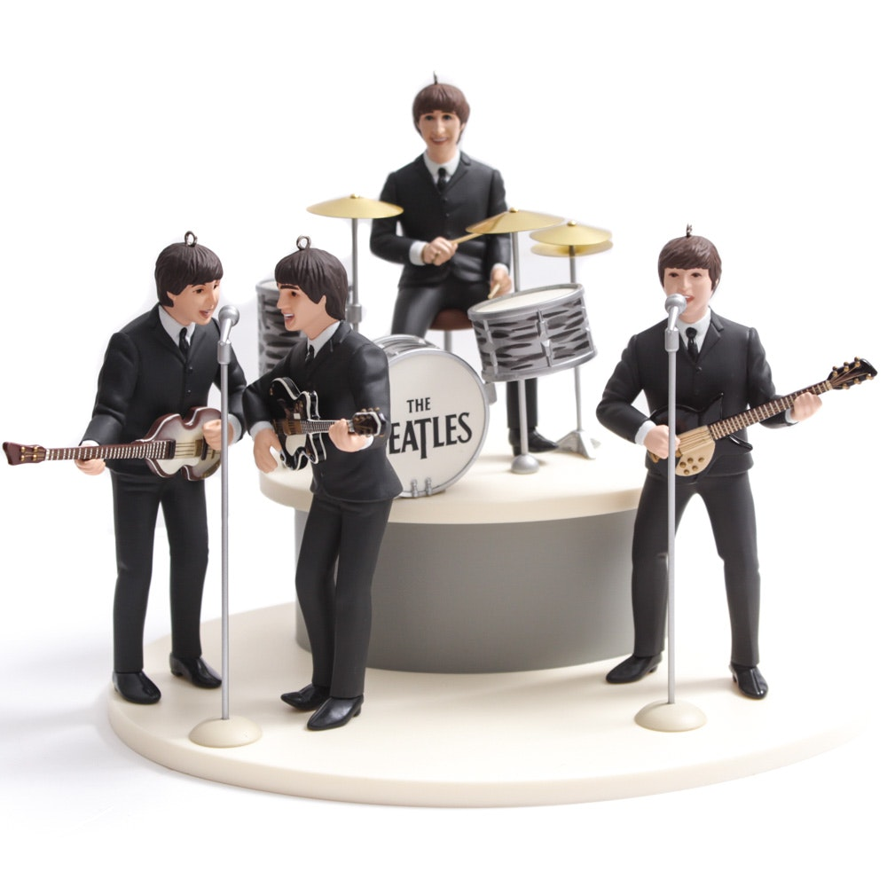 "Hallmark 1994 ""The Beatles"" Keepsake Ornament Gift Set"