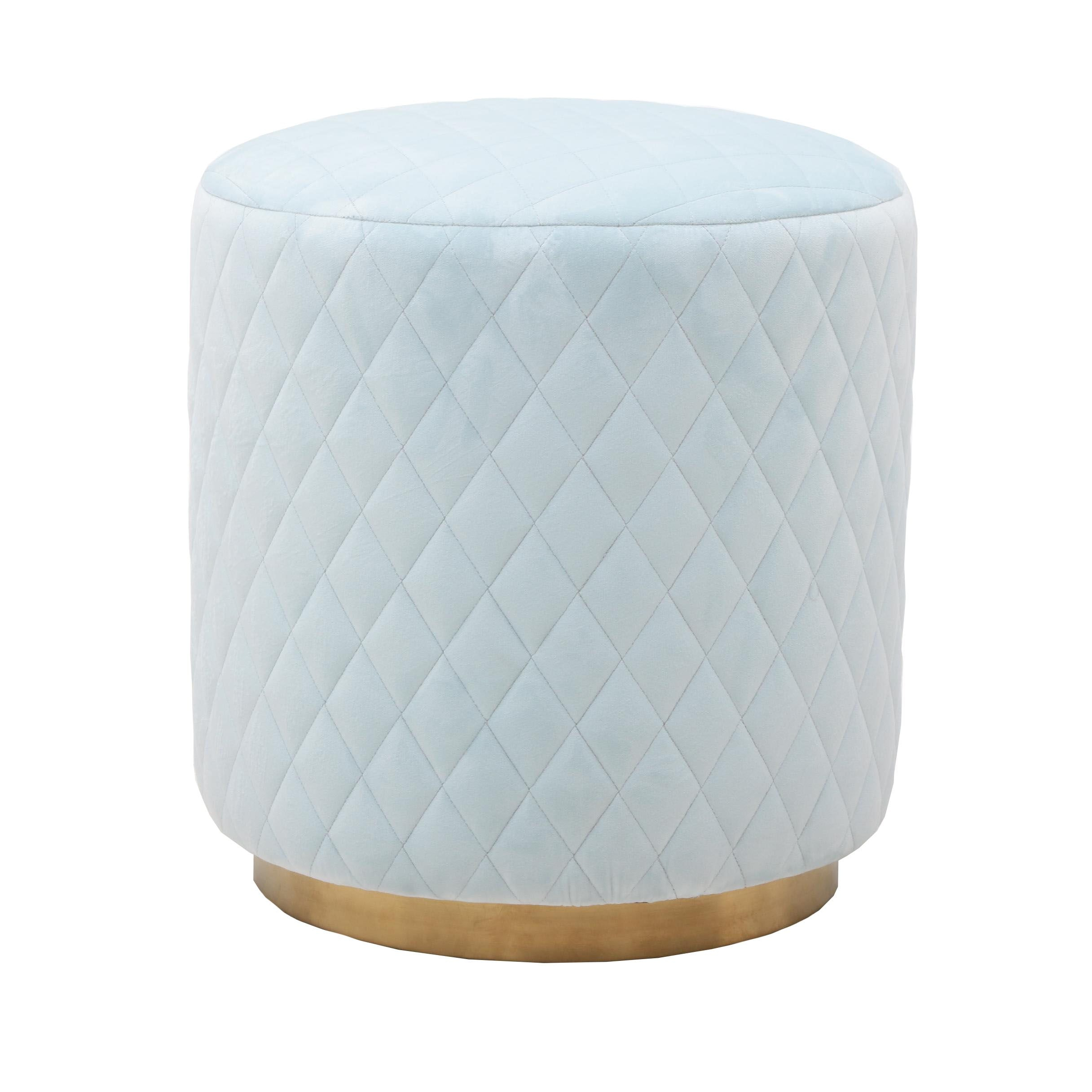 "Contemporary Tov Furniture ""Abir"" Ottoman"