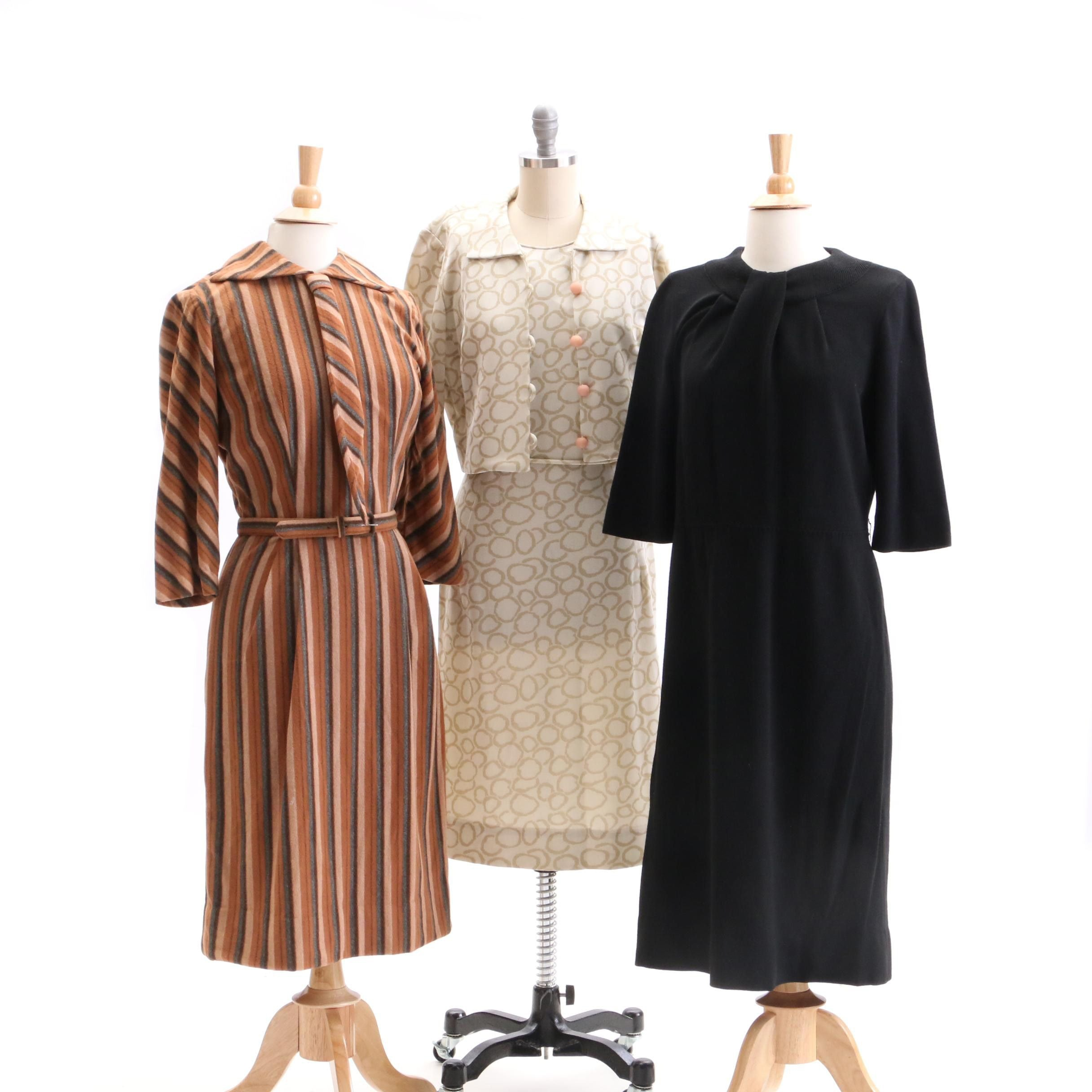 Circa 1960s Vintage Miss Peg Palmer Dress and Others