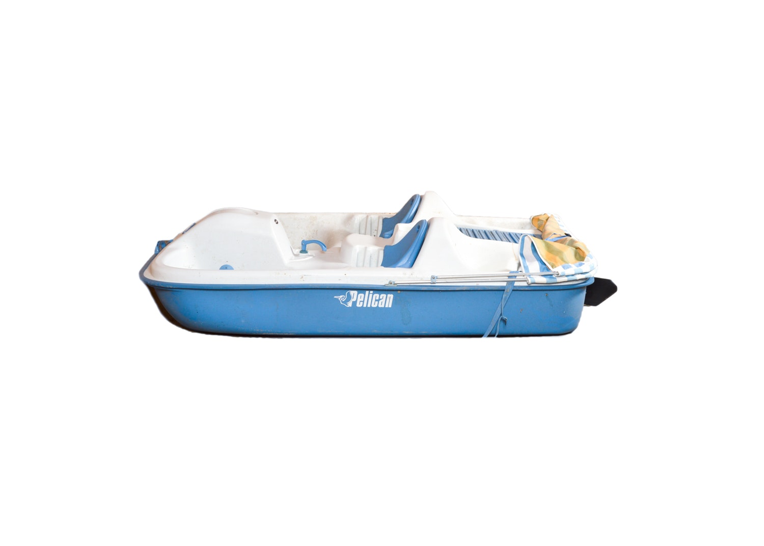 Pelican Ram-X Four-Person Pedal Boat with Retractable Awning