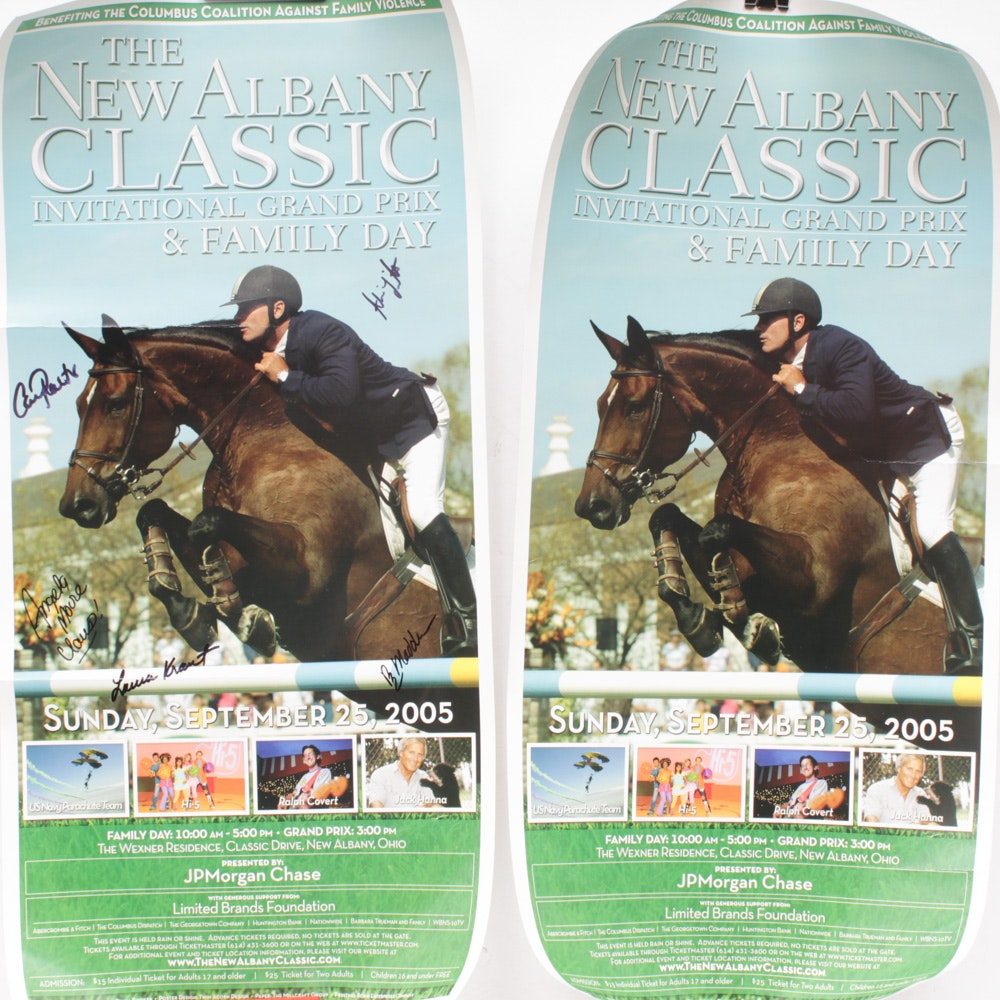 "Equestrian Posters Featuring Tony Leonard ""Three for the Ages"""