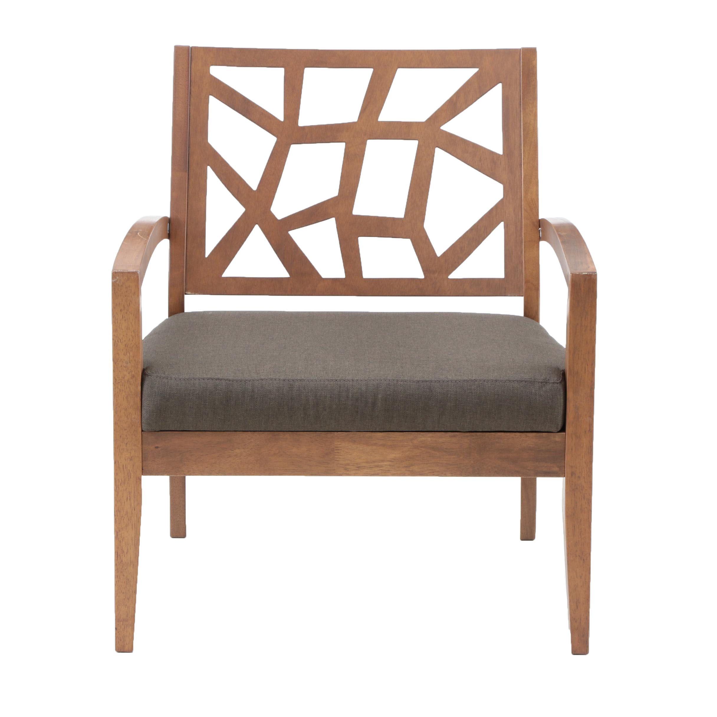 "Contemporary Baxton Studio ""Jennifer"" Armchair"